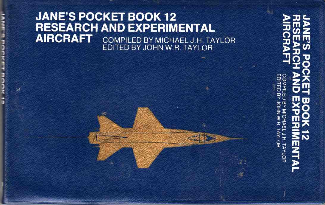 Image for Jane's Pocket Book of Research and Experimental Aircraft