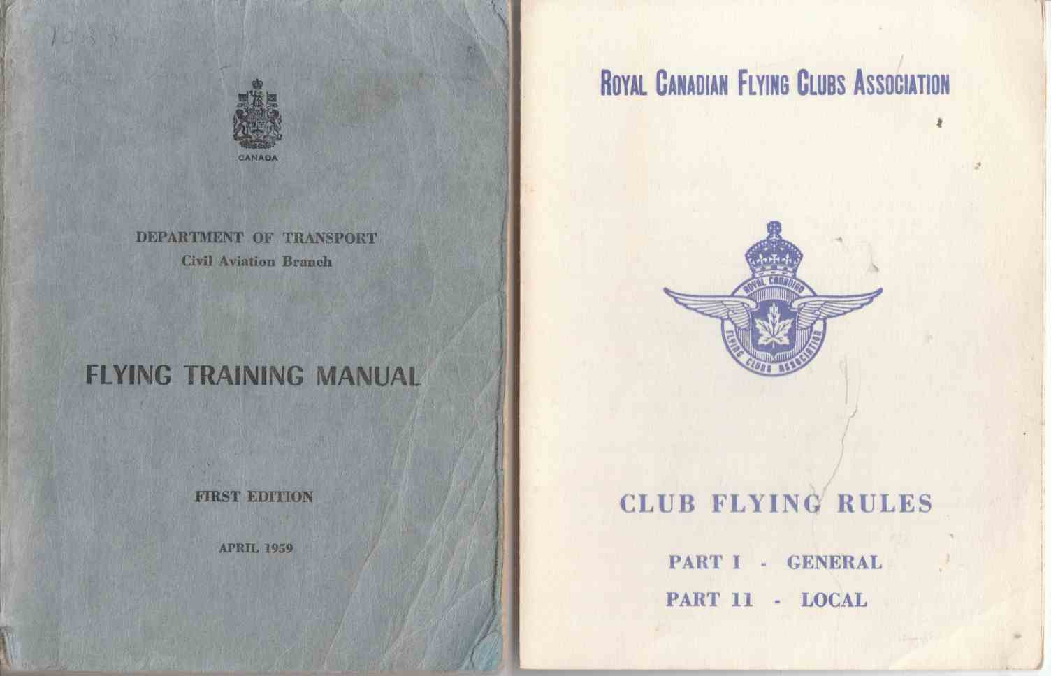 Image for Flying Training Manual