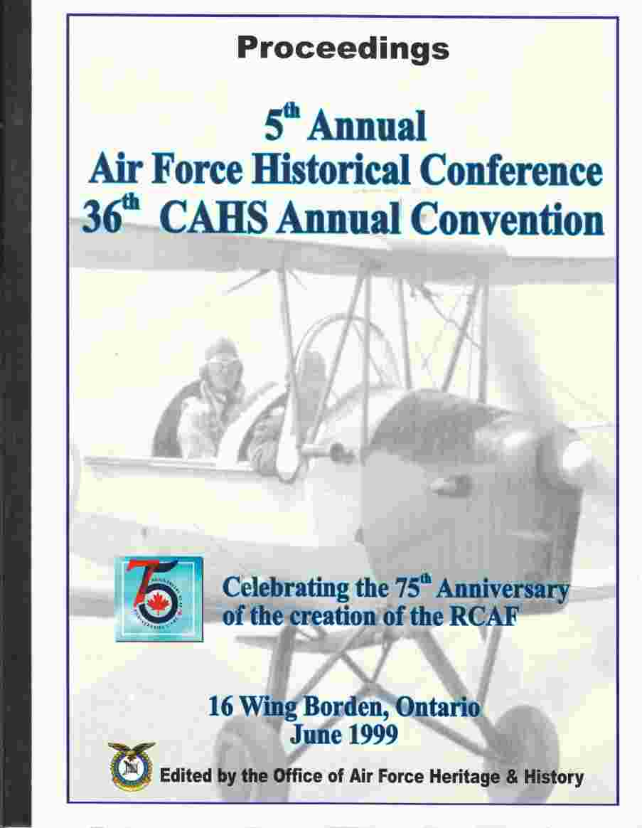 Image for Proceedings 5th Annual Air Force Historical Conference 36th CAHS Annual Convention