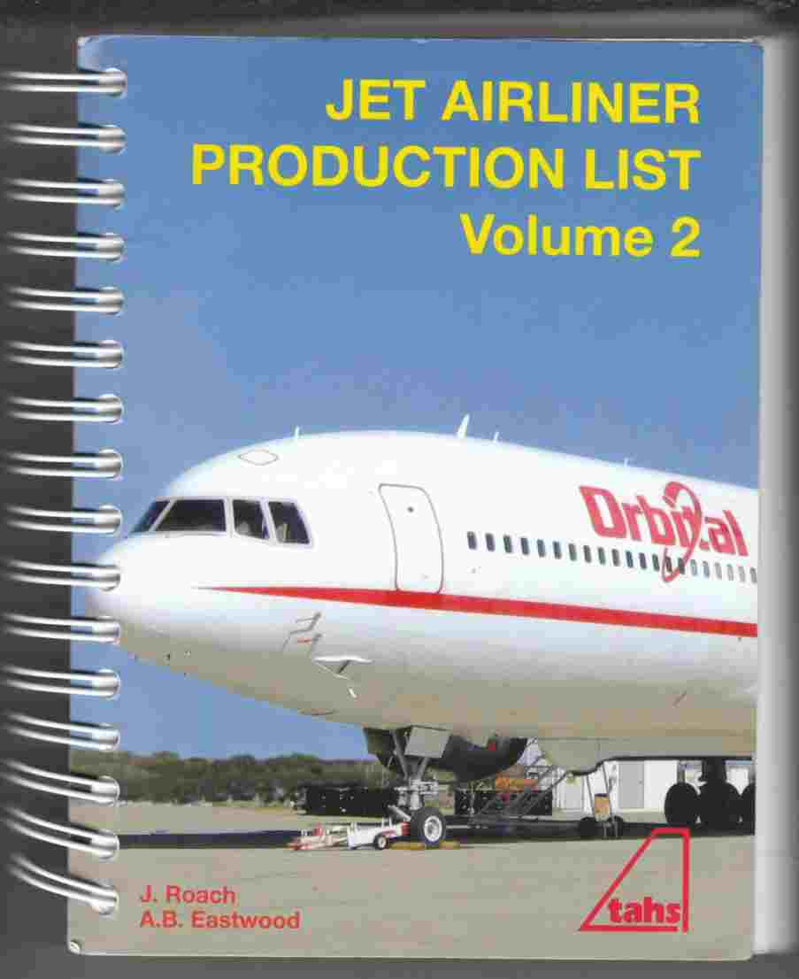 Image for Jet Airliner Production List Volume 2