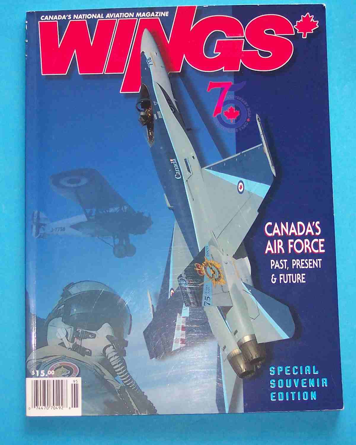 Image for Wings Canada's Air Force - Past, Present & Future