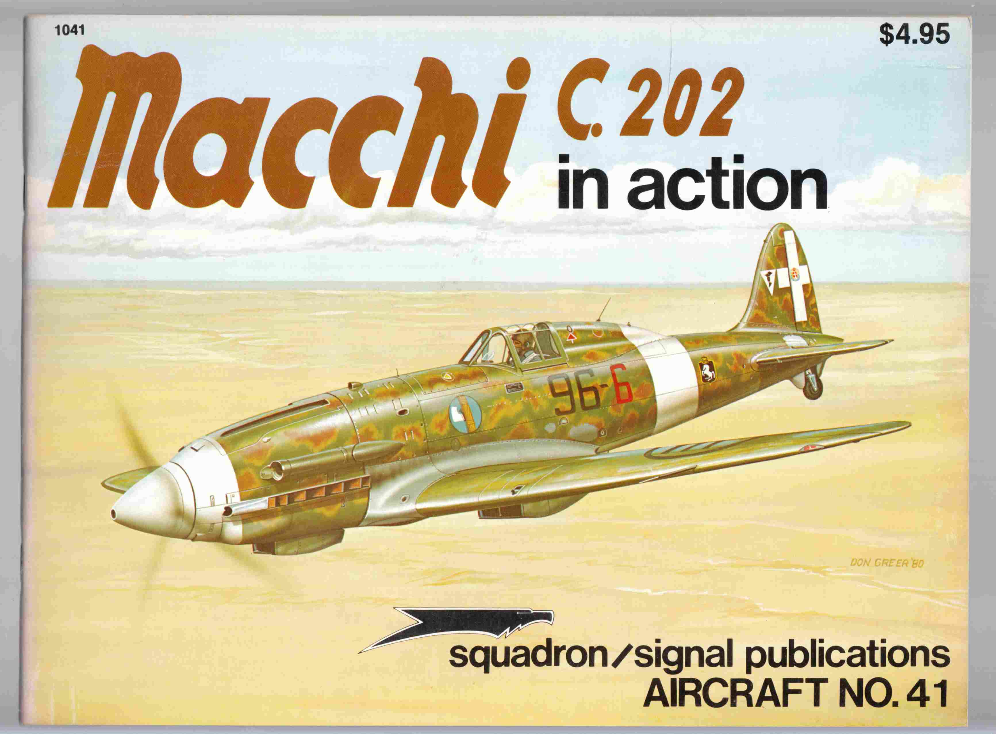 Image for Macchi C.202 in Action Aircraft No. 41
