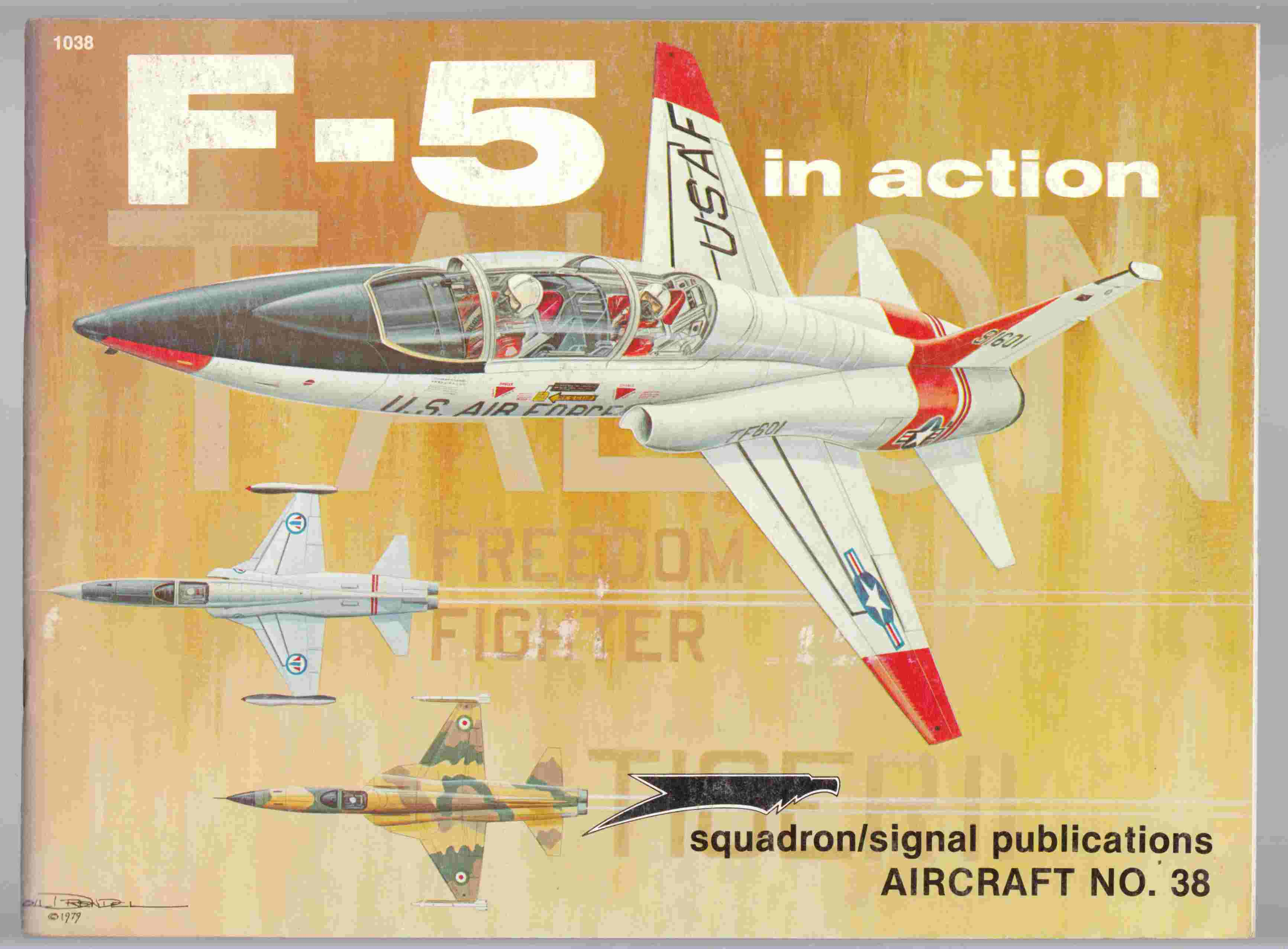 Image for F-5 in Action Aircraft No. 38