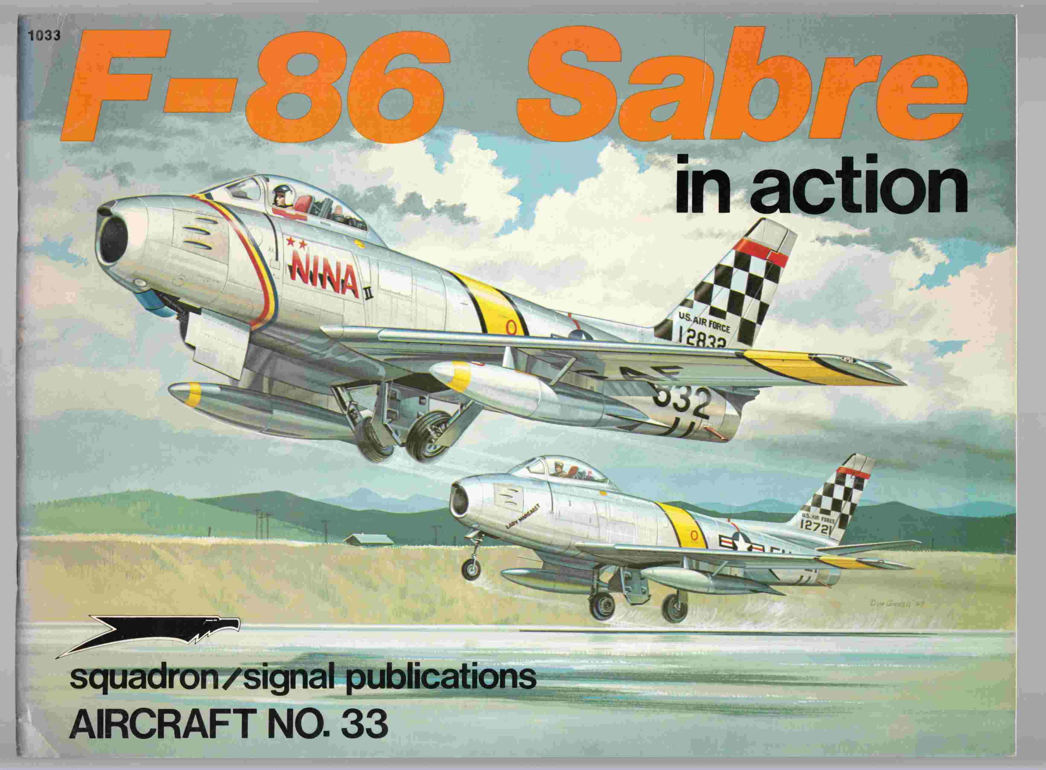 Image for F-86 Sabre in Action Aircraft No. 33