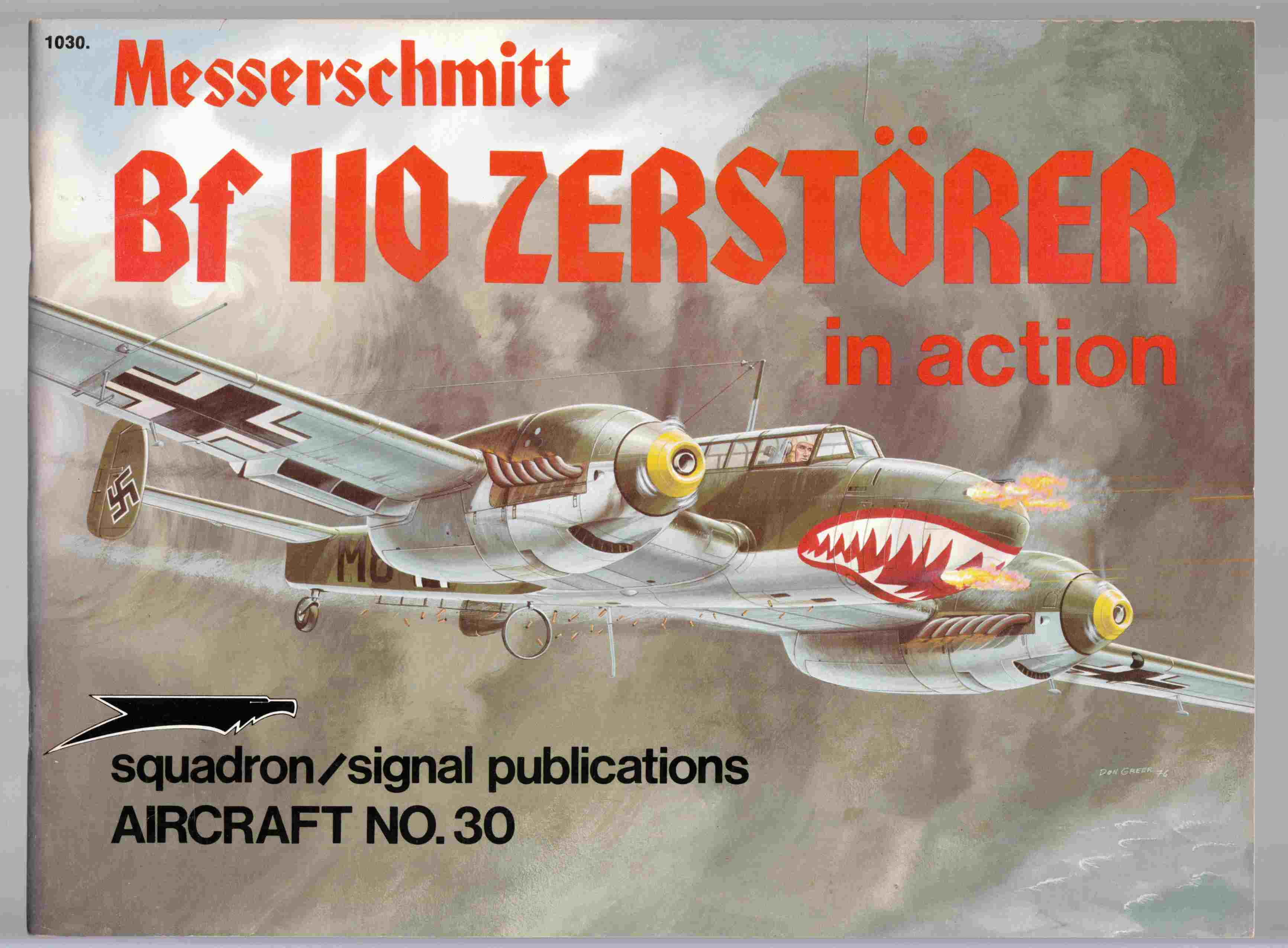 Image for Messerschmitt Bf 110 Zerstorer in Action Aircraft No. 30