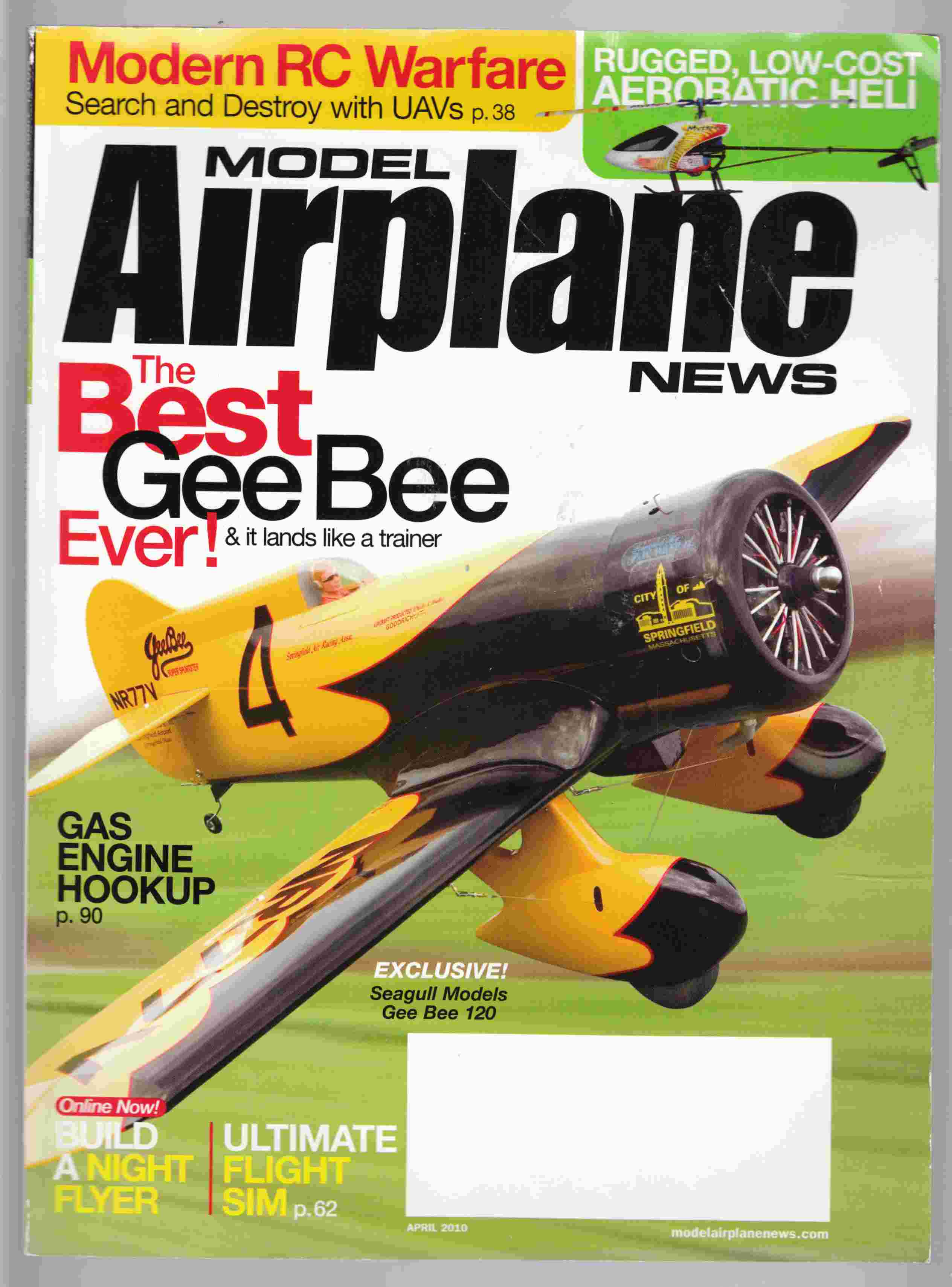 Image for Model Airplane News April 2010 Volume 138 Number 4