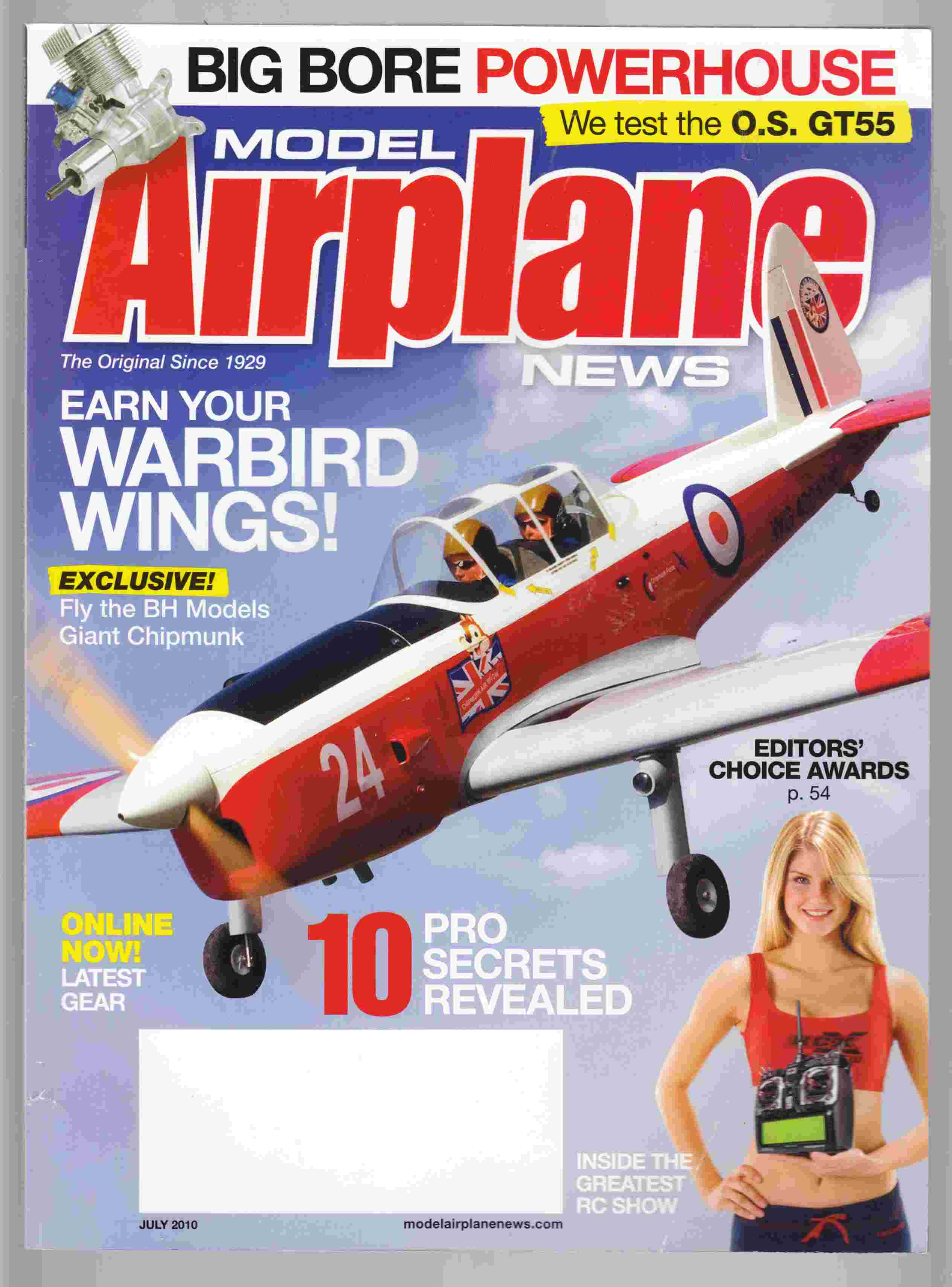 Image for Model Airplane News July 2010 Volume 138, No 7