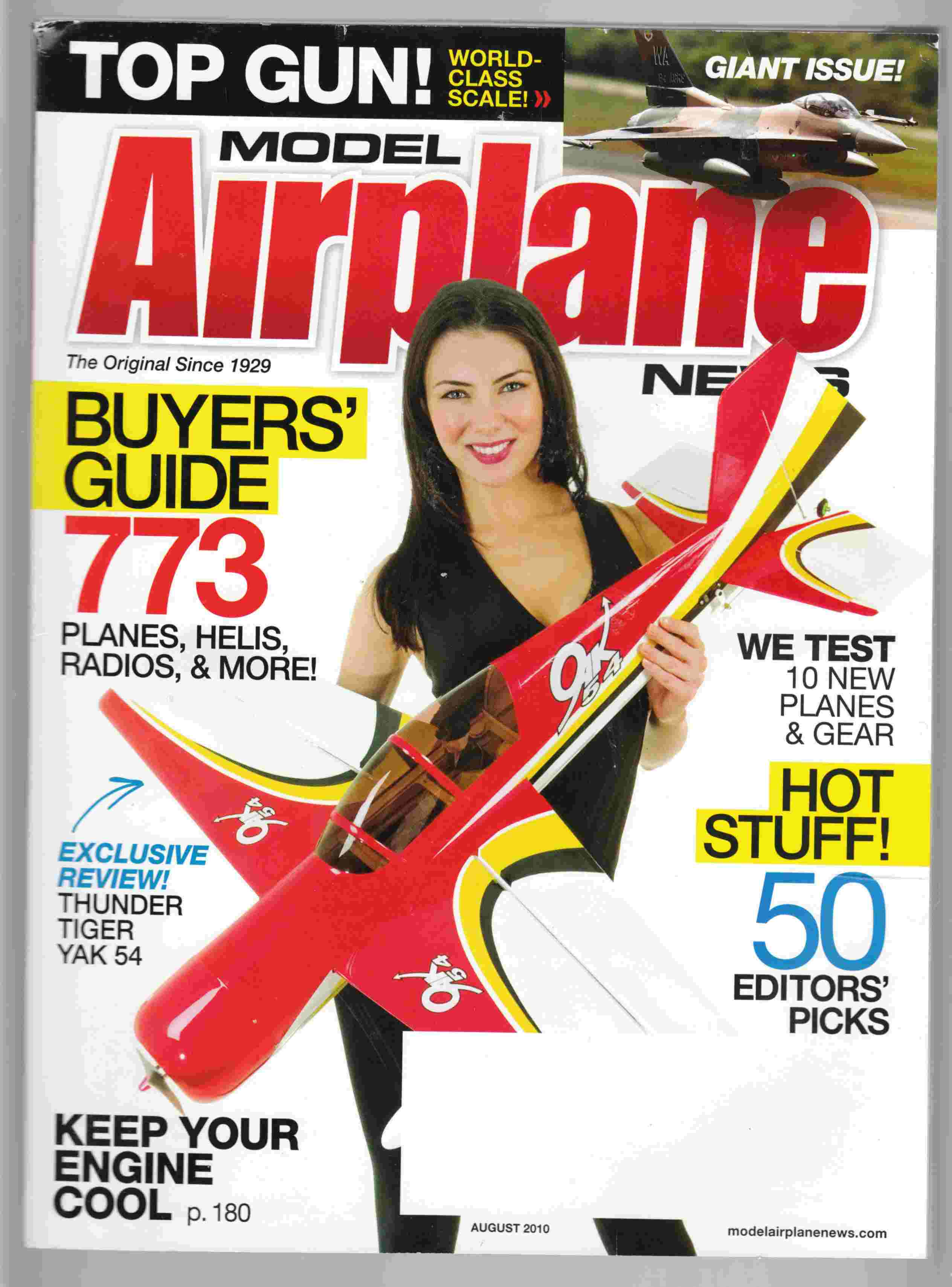 Image for Model Airplane News August 2010 Volume 138, No. 8