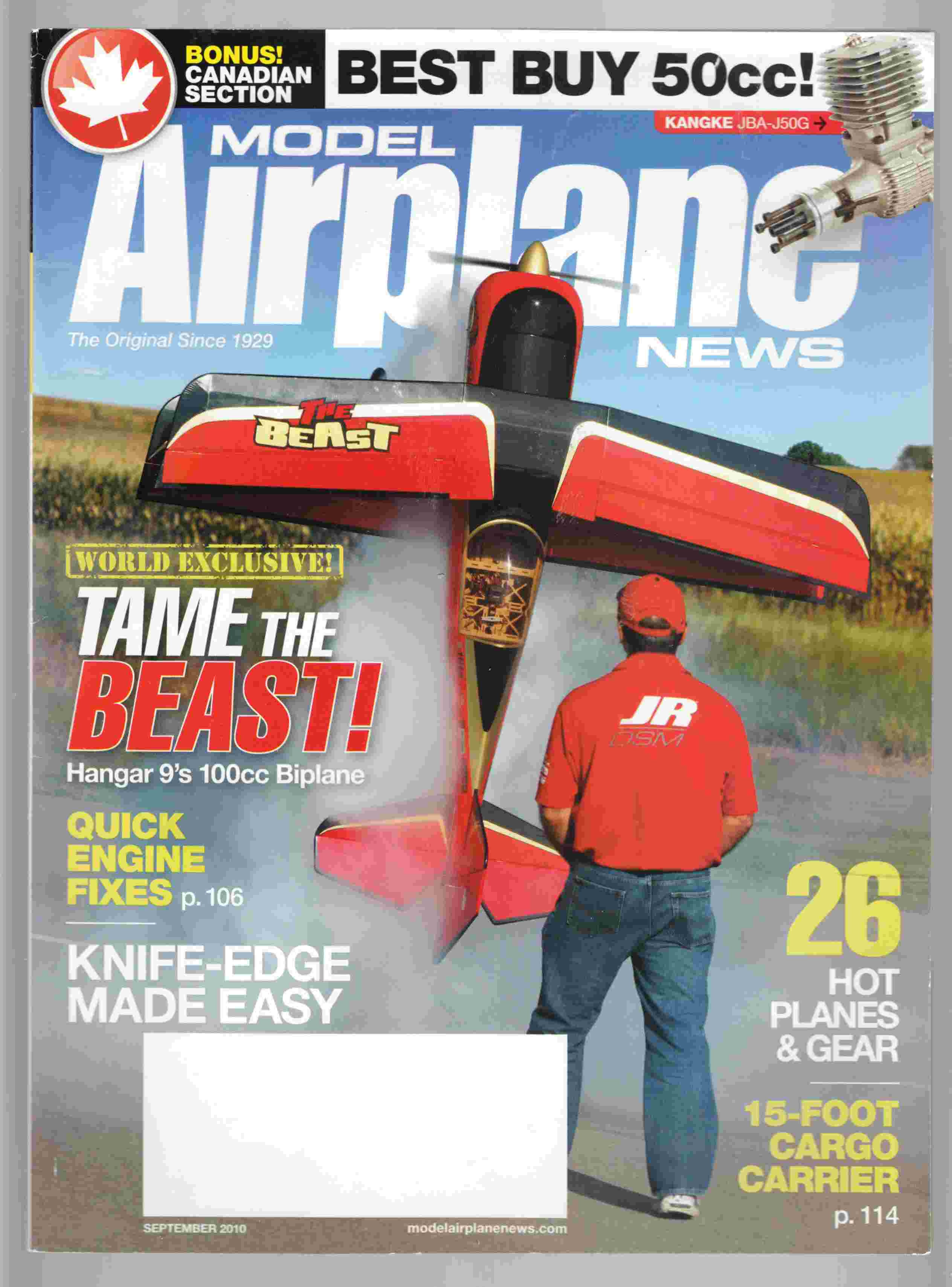 Image for Model Airplane News September 2010 Volume 138, No. 9