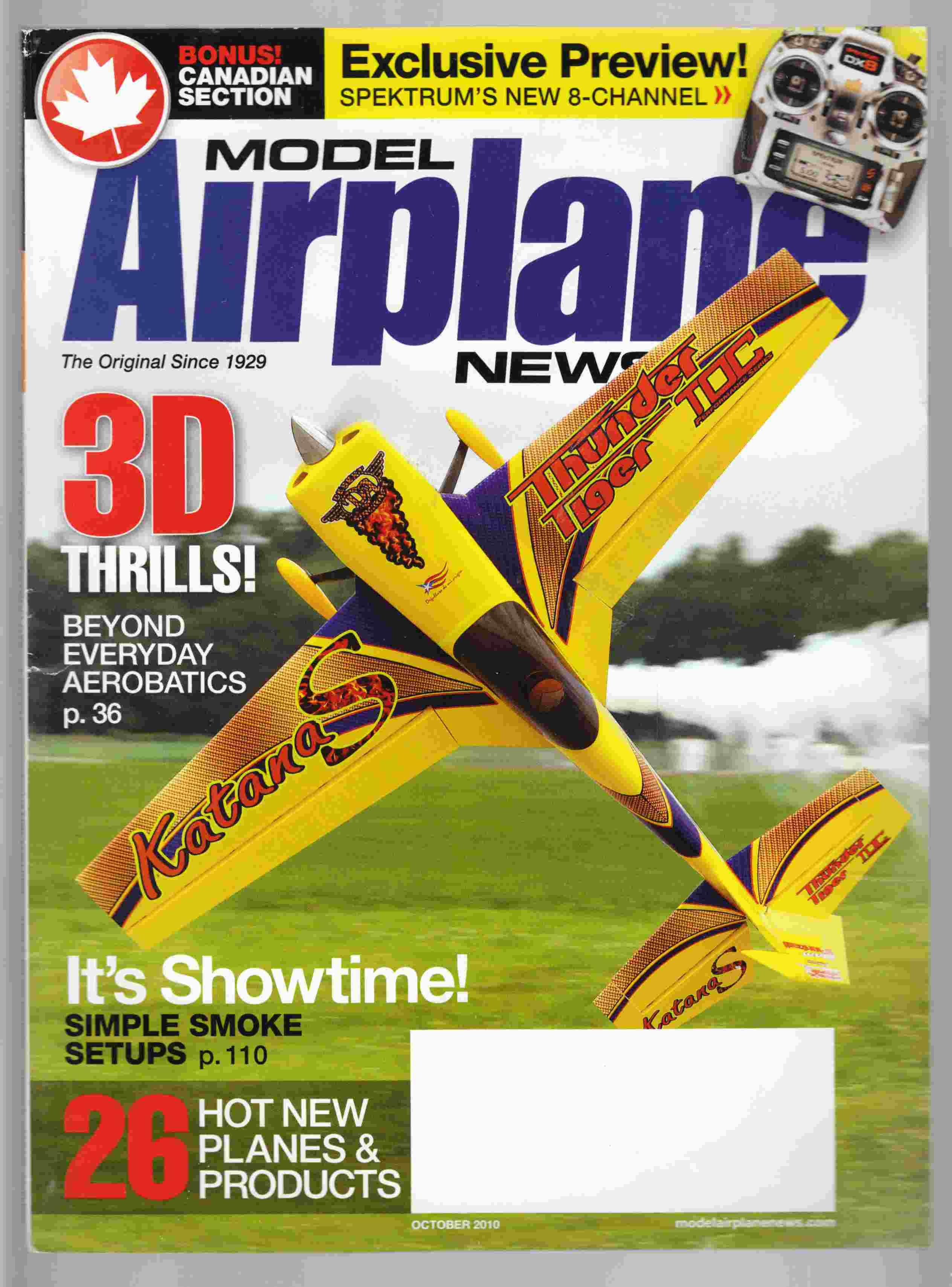 Image for Model Airplane News October 2010 Volume 138, No. 10