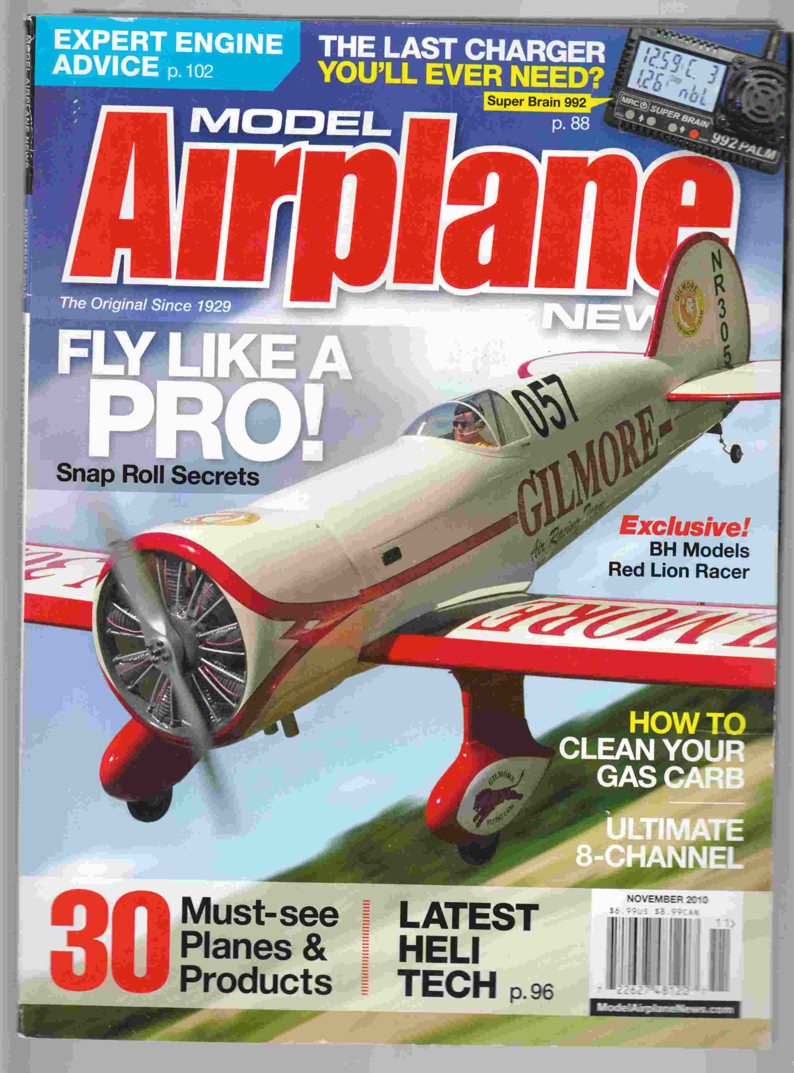 Image for Model Airplane News November 2010 Volume 138, No. 11