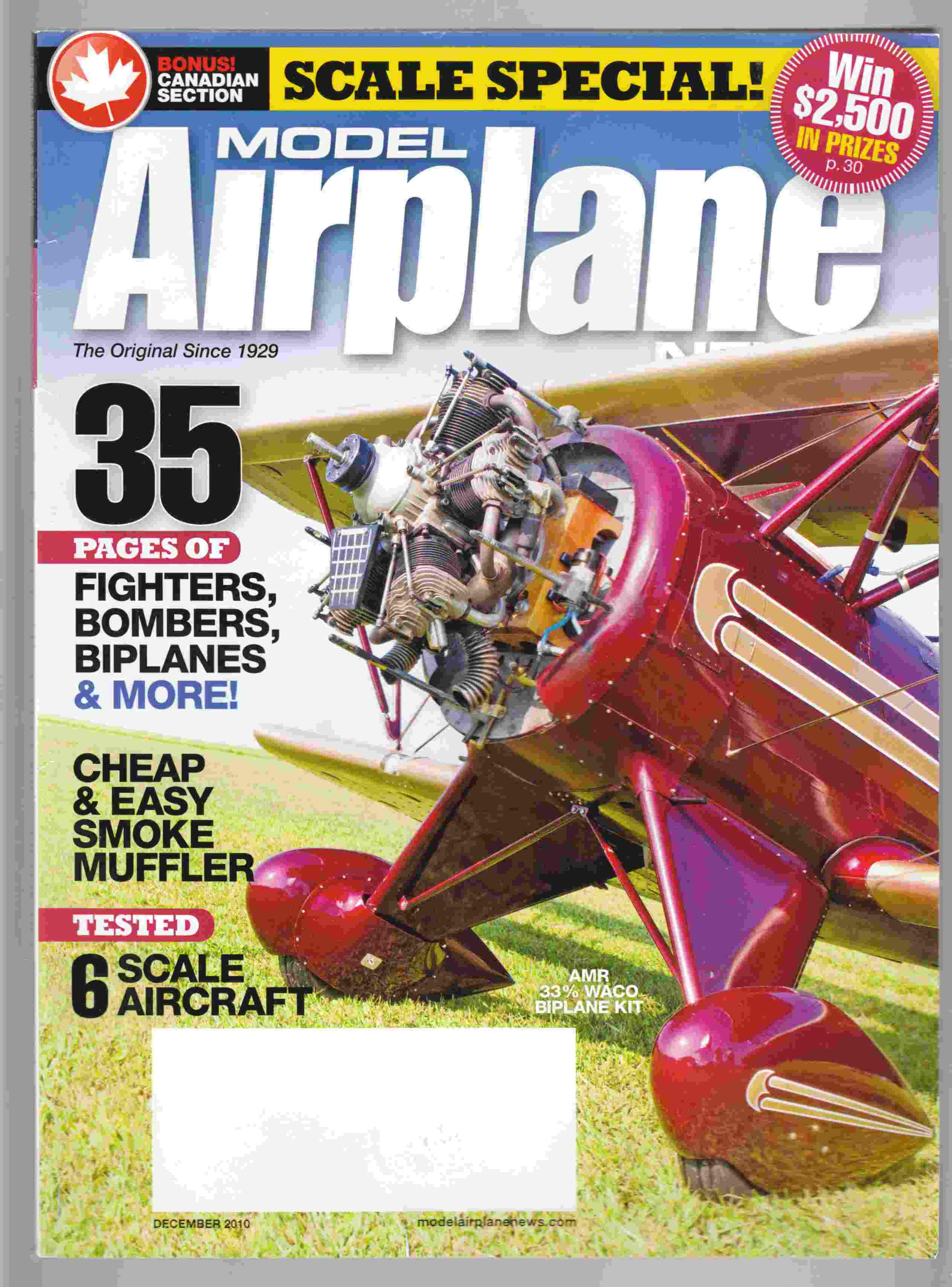 Image for Model Airplane News December 2010 Volume 138, No. 12