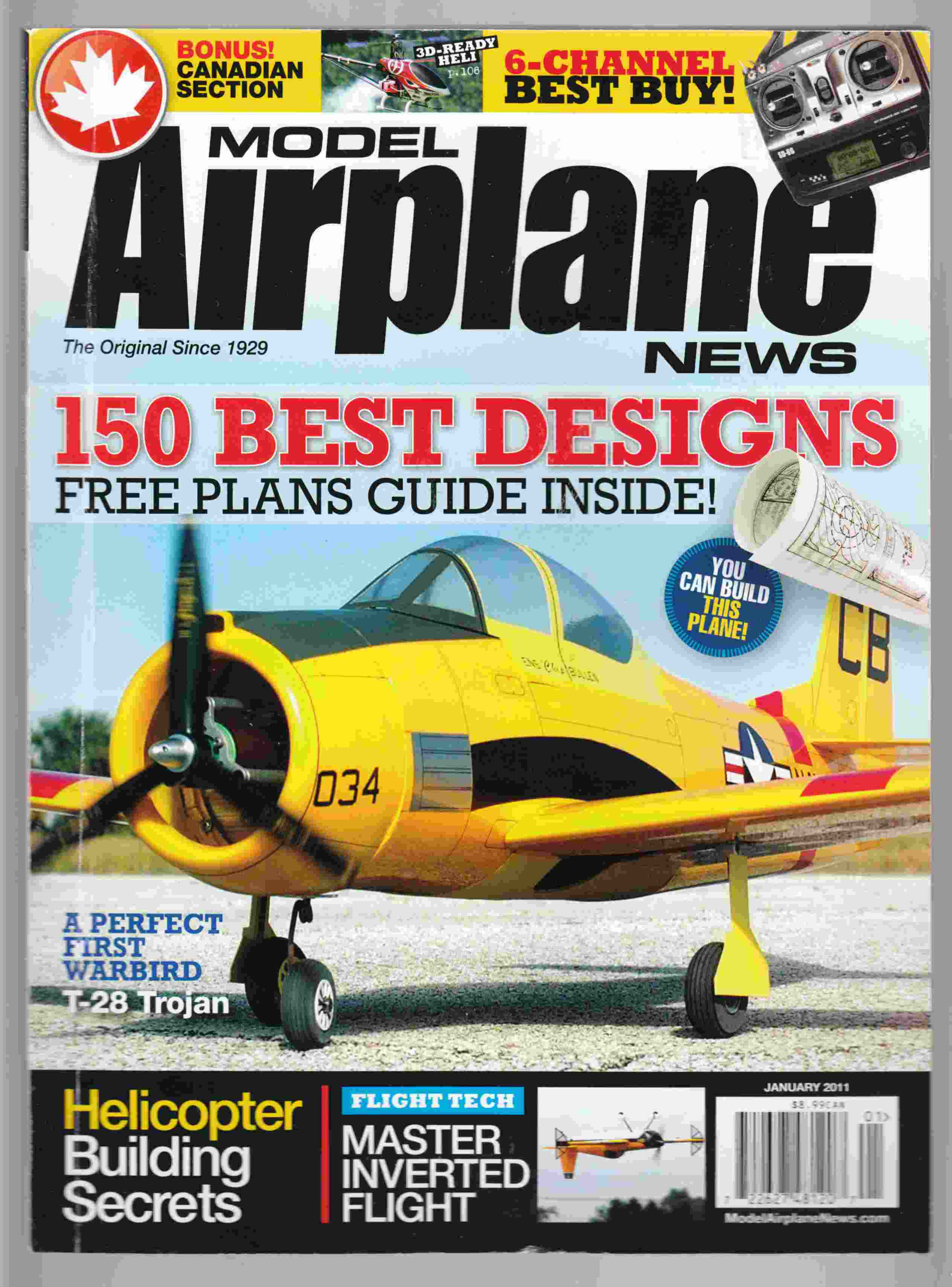 Image for Model Airplane News January 2011 Volume 139, No. 1