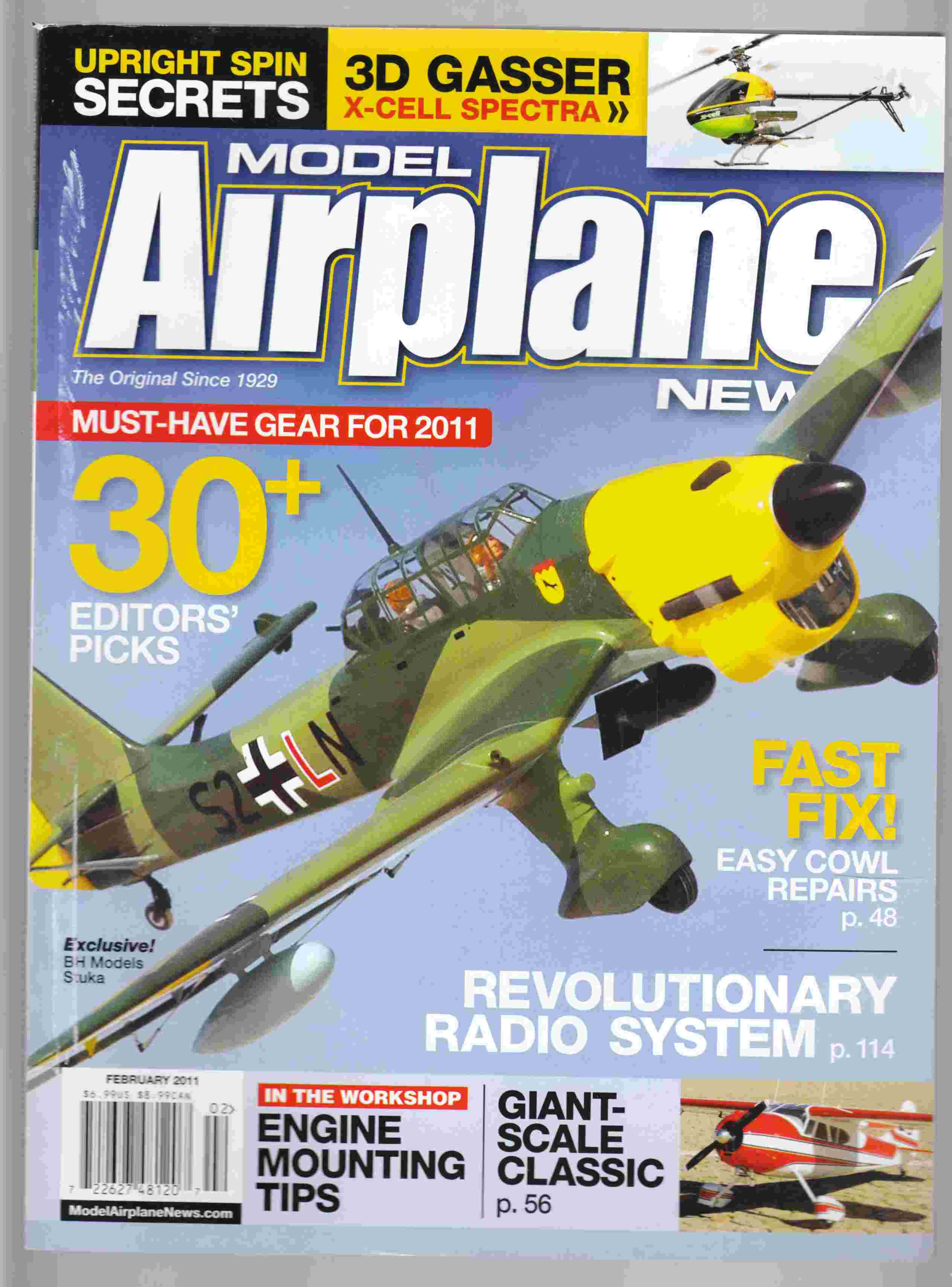 Image for Model Airplane News February 2011 Volume 139, No. 2