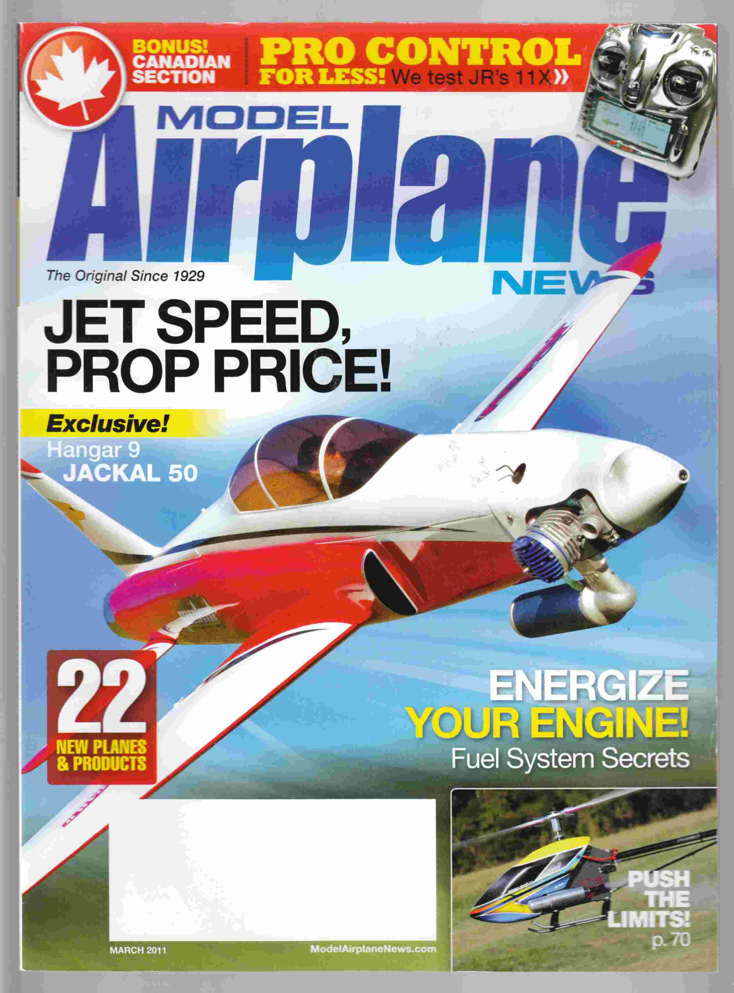 Image for Model Airplane News March 2011 Volume 139, No. 3