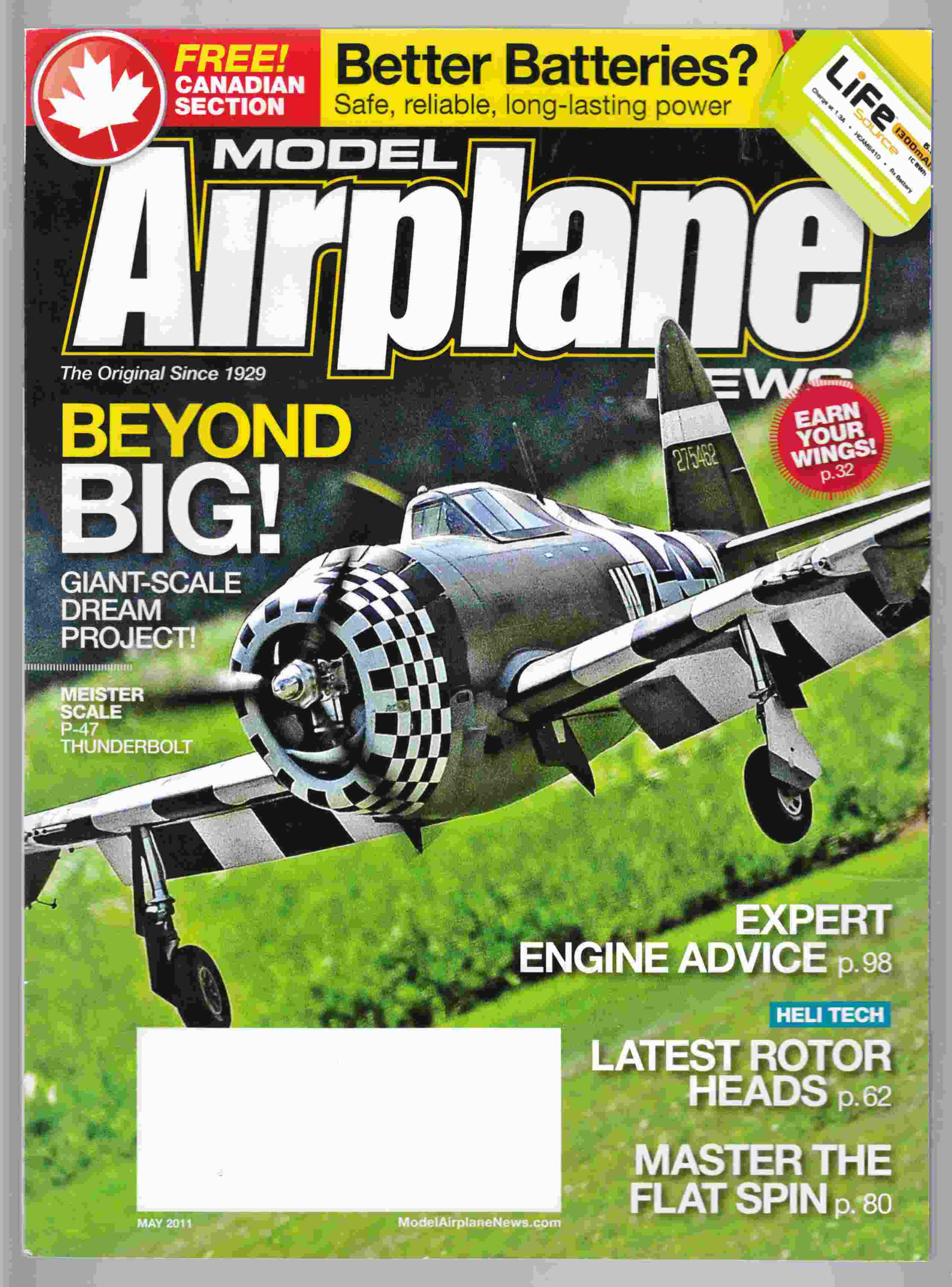 Image for Model Airplane News May 2011 Volume 139, No. 5