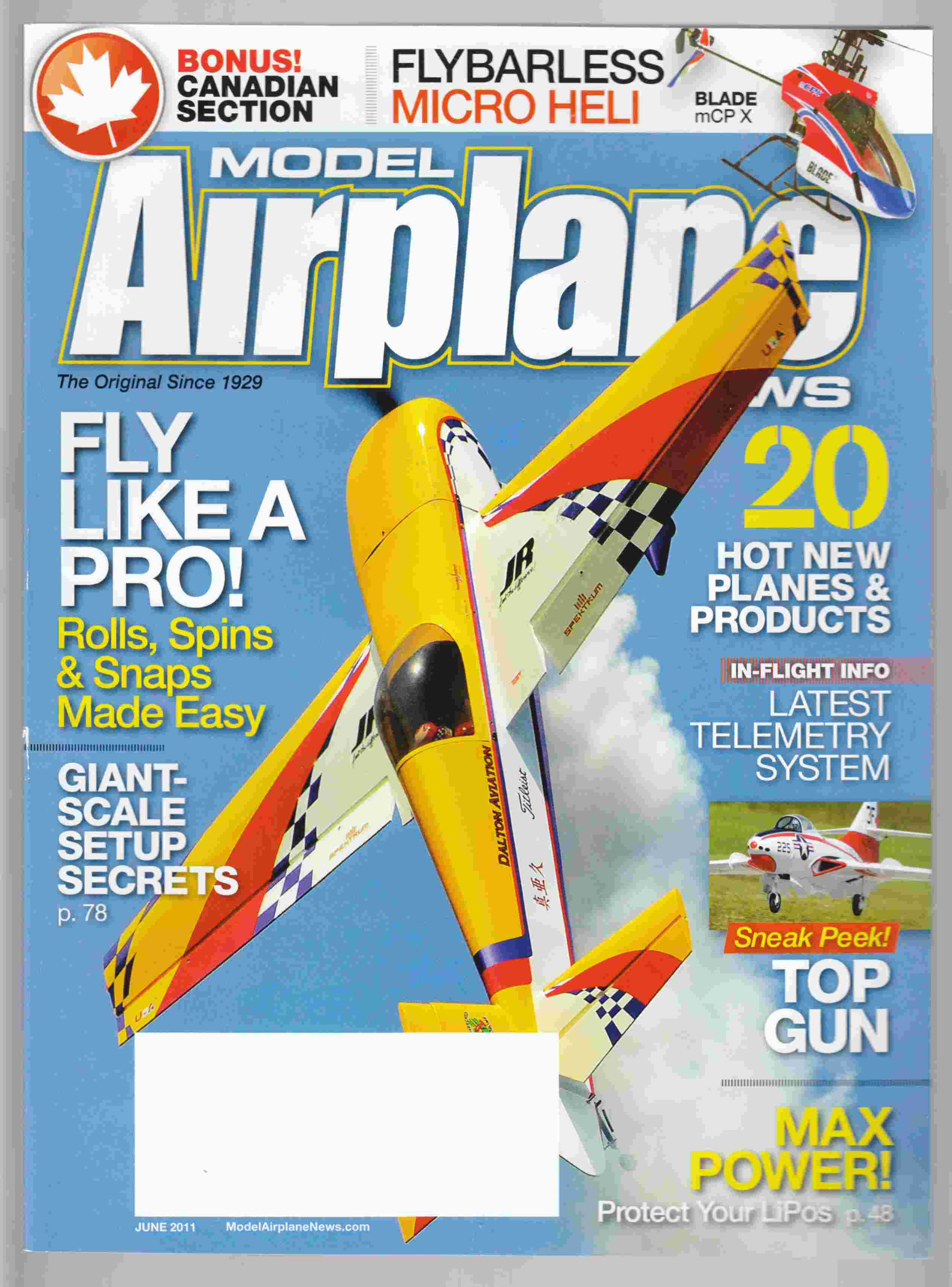 Image for Model Airplane News June 2011 Volume 139, No. 6