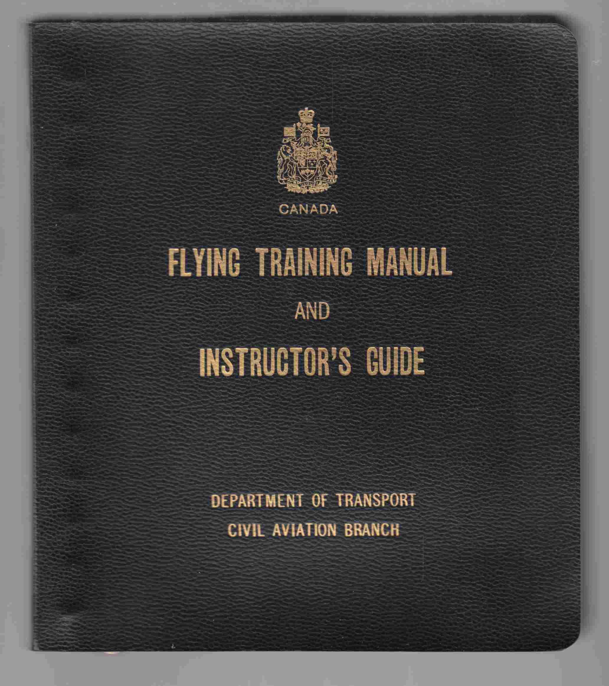 Image for Flying Training Manual and Instructor's Guide