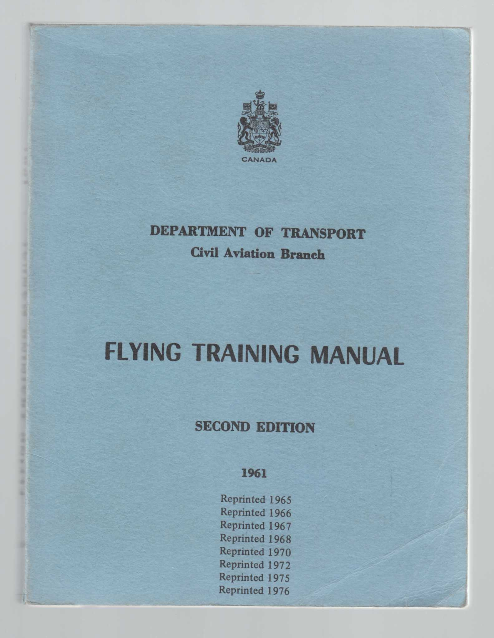 Image for Flying Training Manual Second Edition