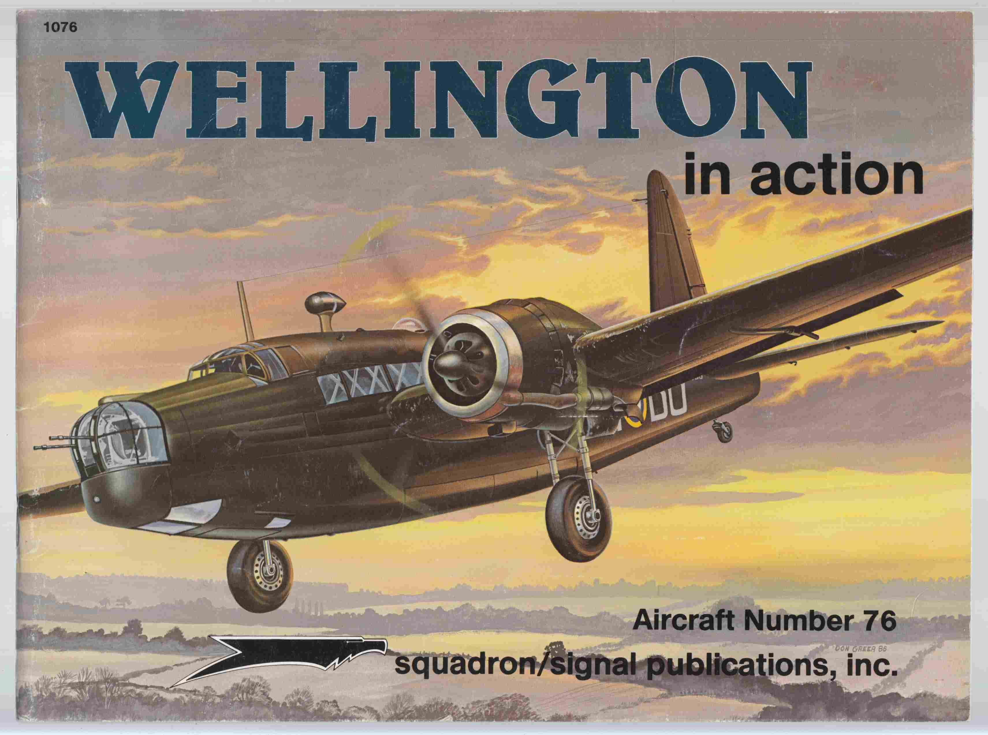 Image for Wellington in Action Aircraft Number 76