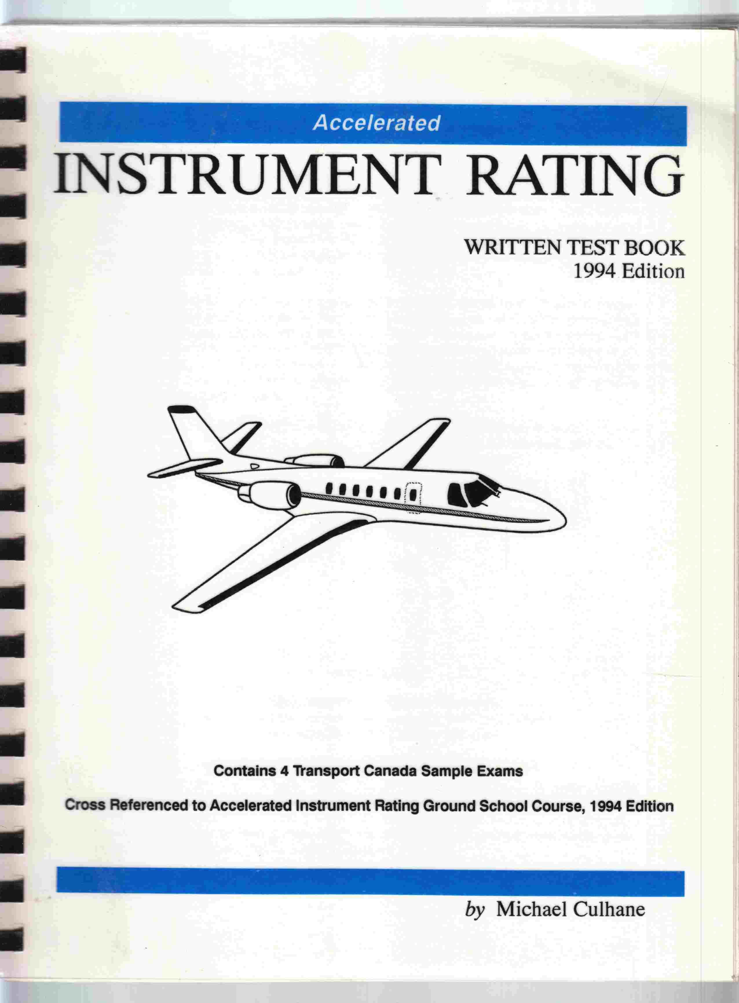 Image for Accelerated Instrument Rating Written Test Book, 1994 Edition