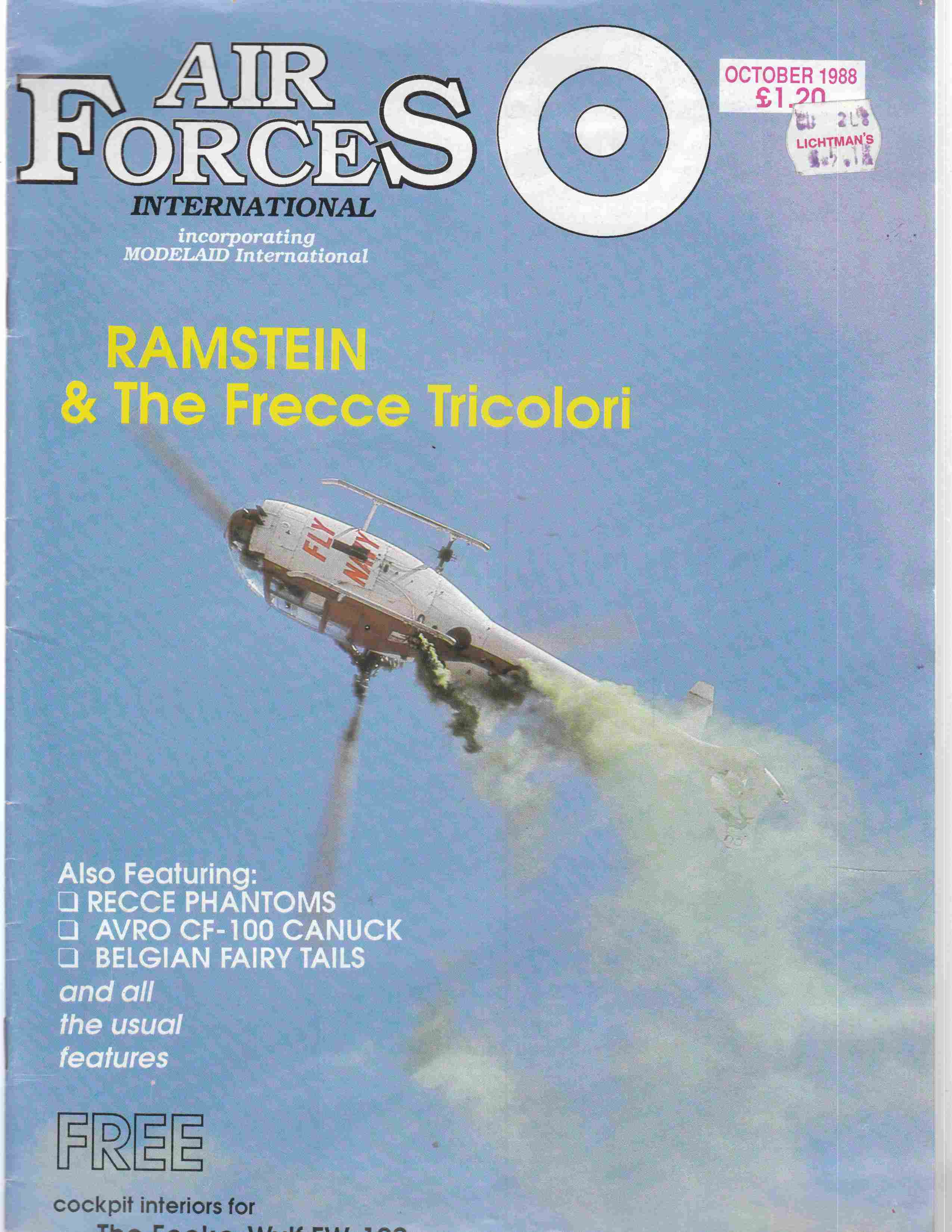 Image for Air Forces International October 1988