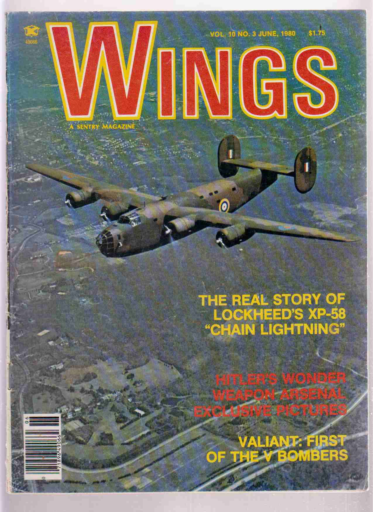 Image for Wings, Vol. 10, No. 3, June 1980