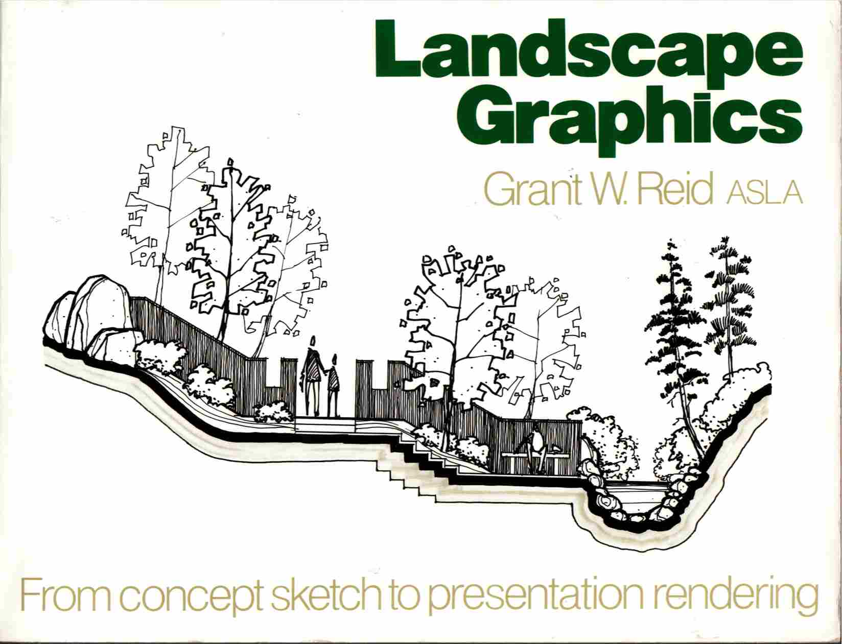 Image for Landscape Graphics From Concept Sketch to Presentation Rendering