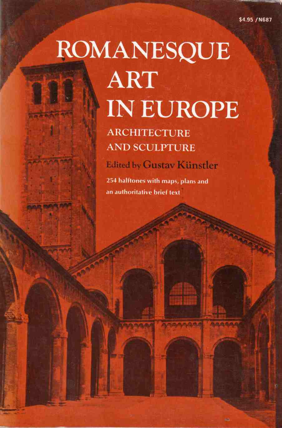 Image for Romanesque Art in Europe Architecture and Sculpture