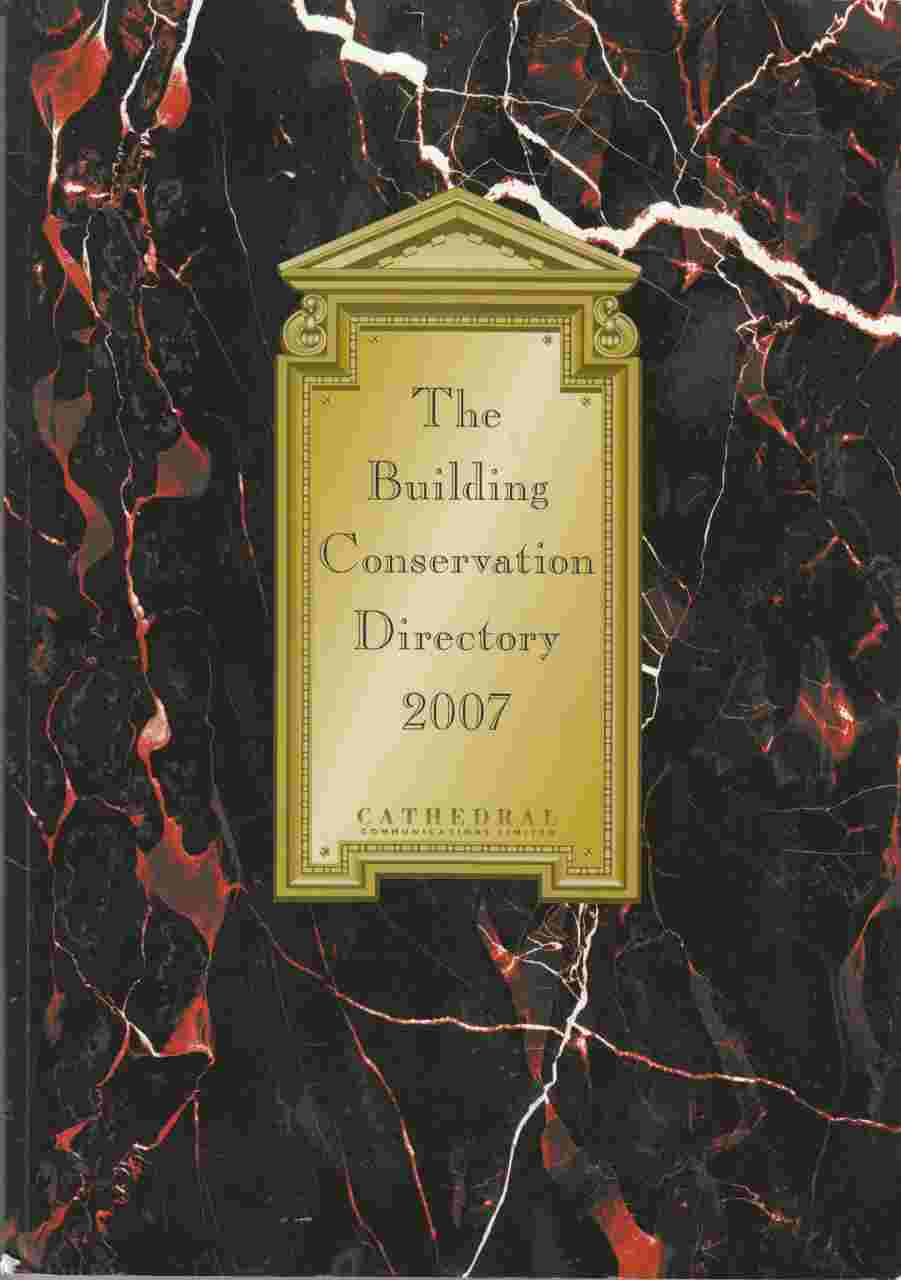 Image for The Building Conservation Directory 2007