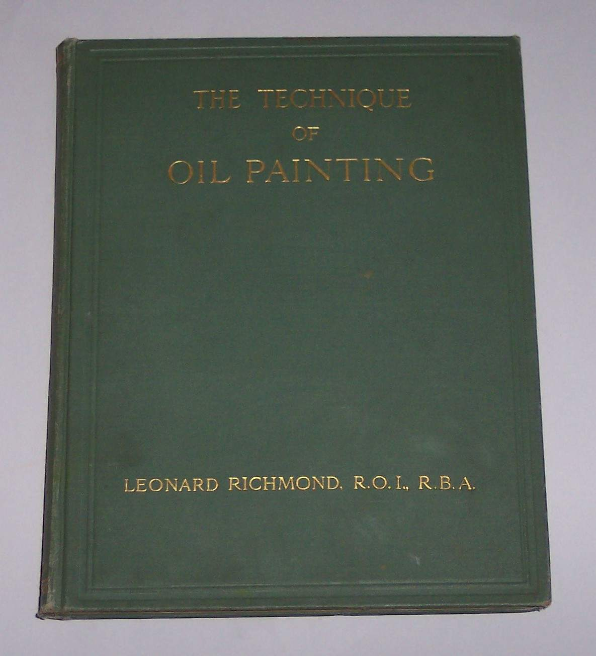 Image for The Technique of Oil Painting