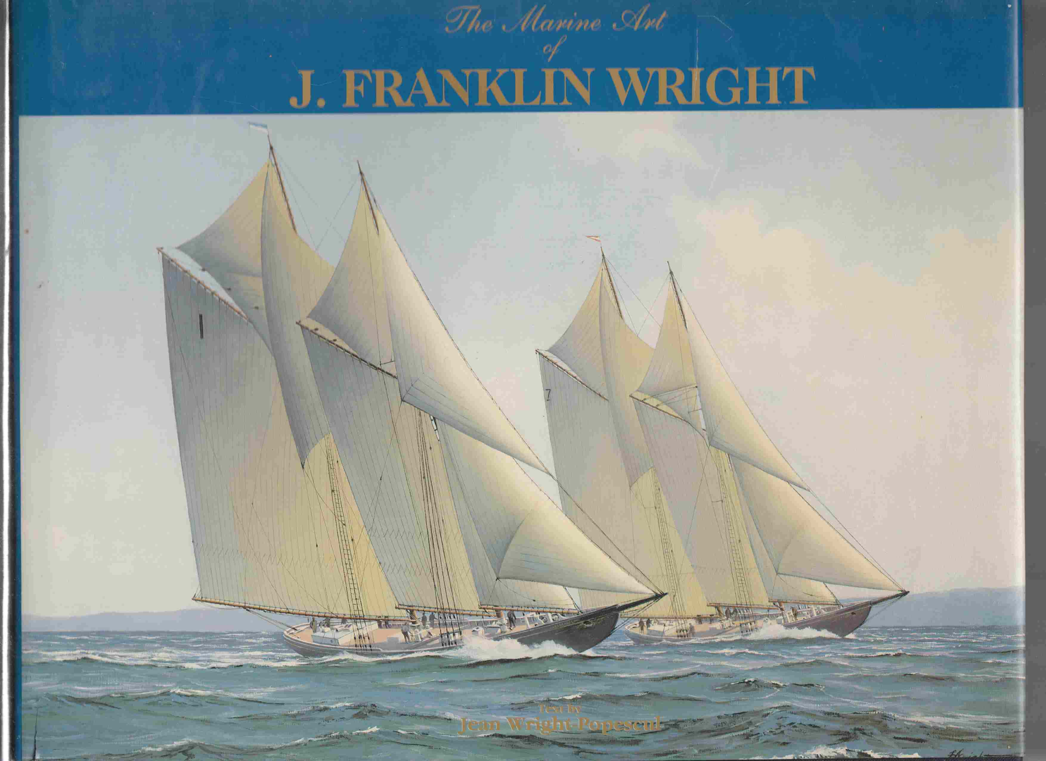 Image for The Marine Art of J. Franklin Wright
