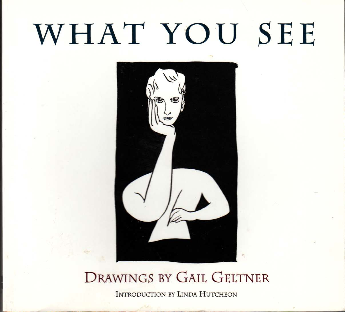 Image for What You Can See Drawings by Gail Geltner
