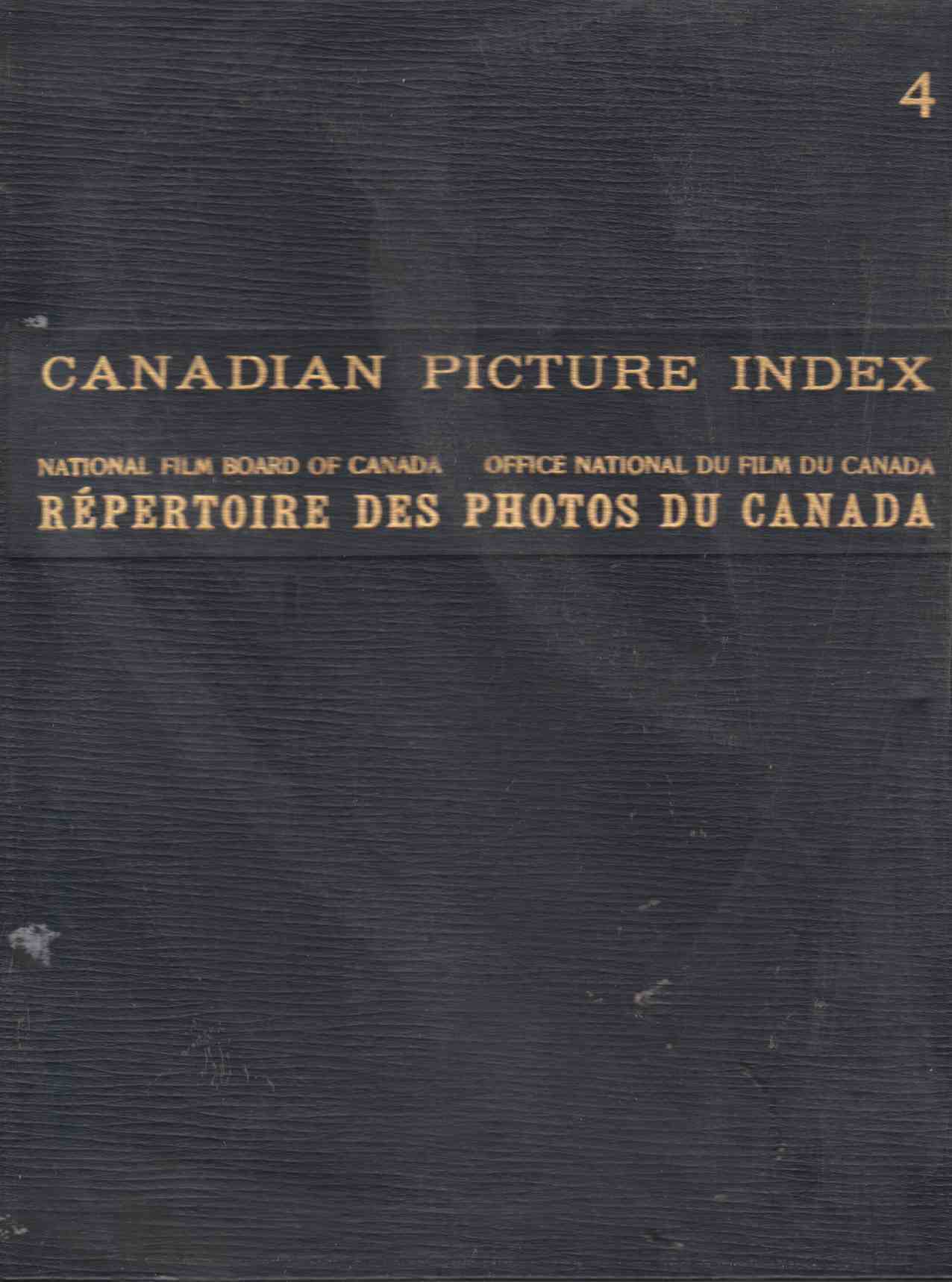 Image for Canadian Picture Index Volume 4 Repertoire Des Photos Du Canada
