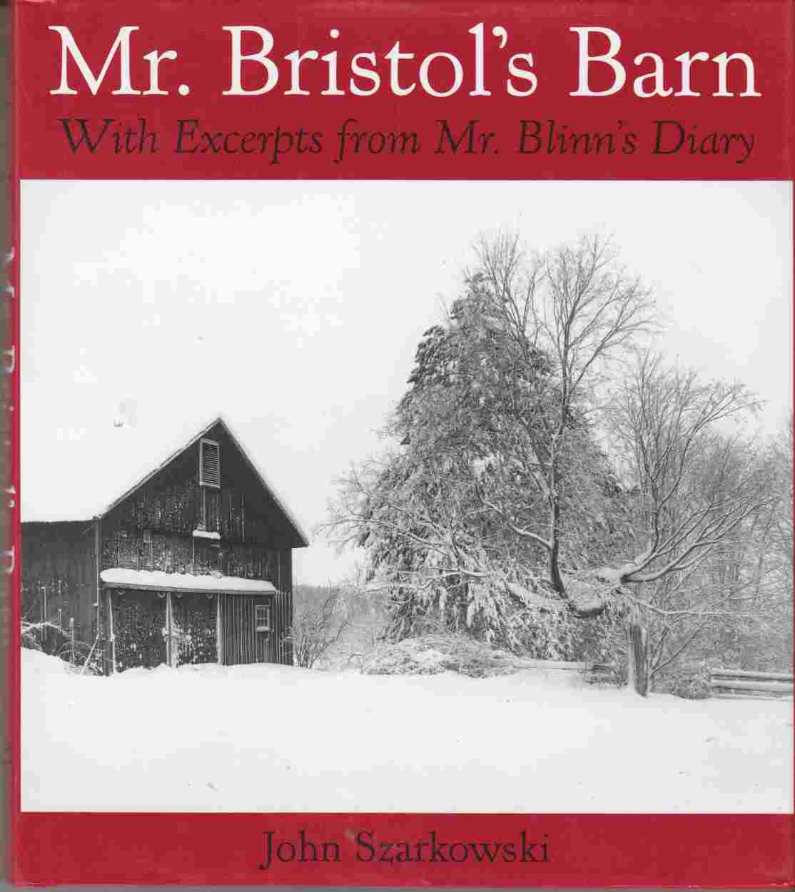 Image for Mr. Bristol's Barn With Excerpts from Mr. Blinn's Diary