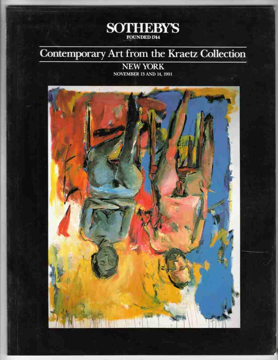 Image for Sotheby's Contemporary Art from the Kraetz Collection New York 1991