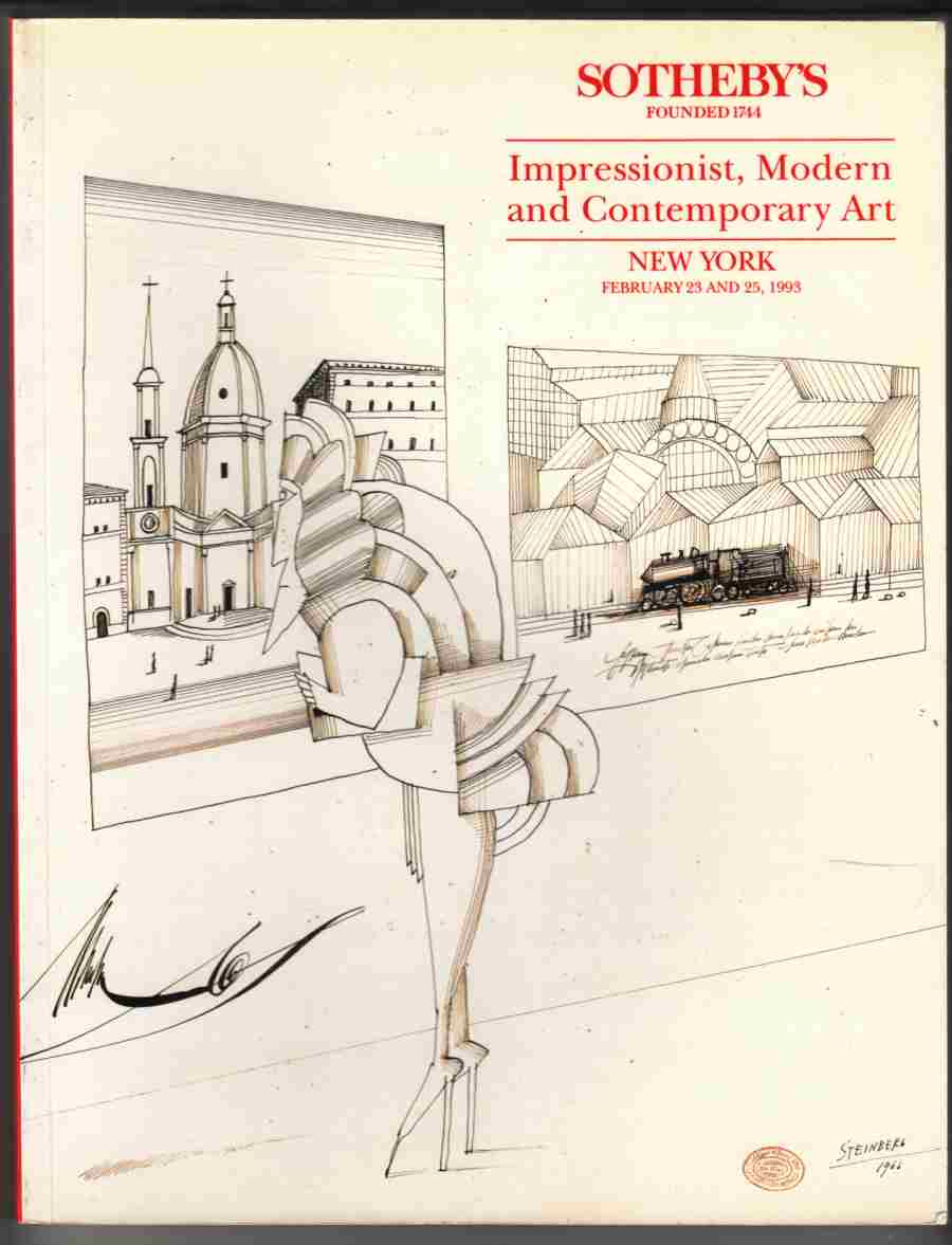 Image for Sotheby's Impressionist, Modern and Contemporary Art, New York February 1993