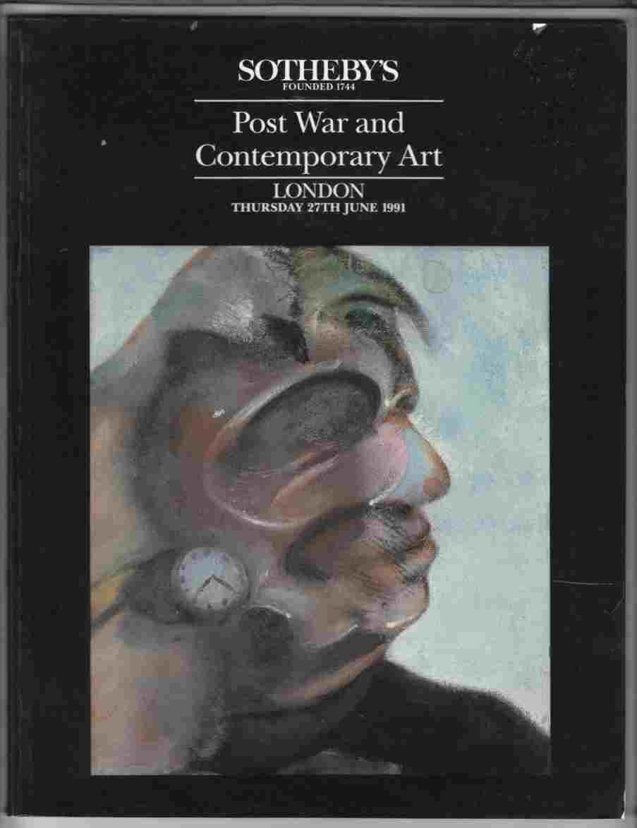 Image for Sotheby's Post War and Contemporary Art, London June 1991
