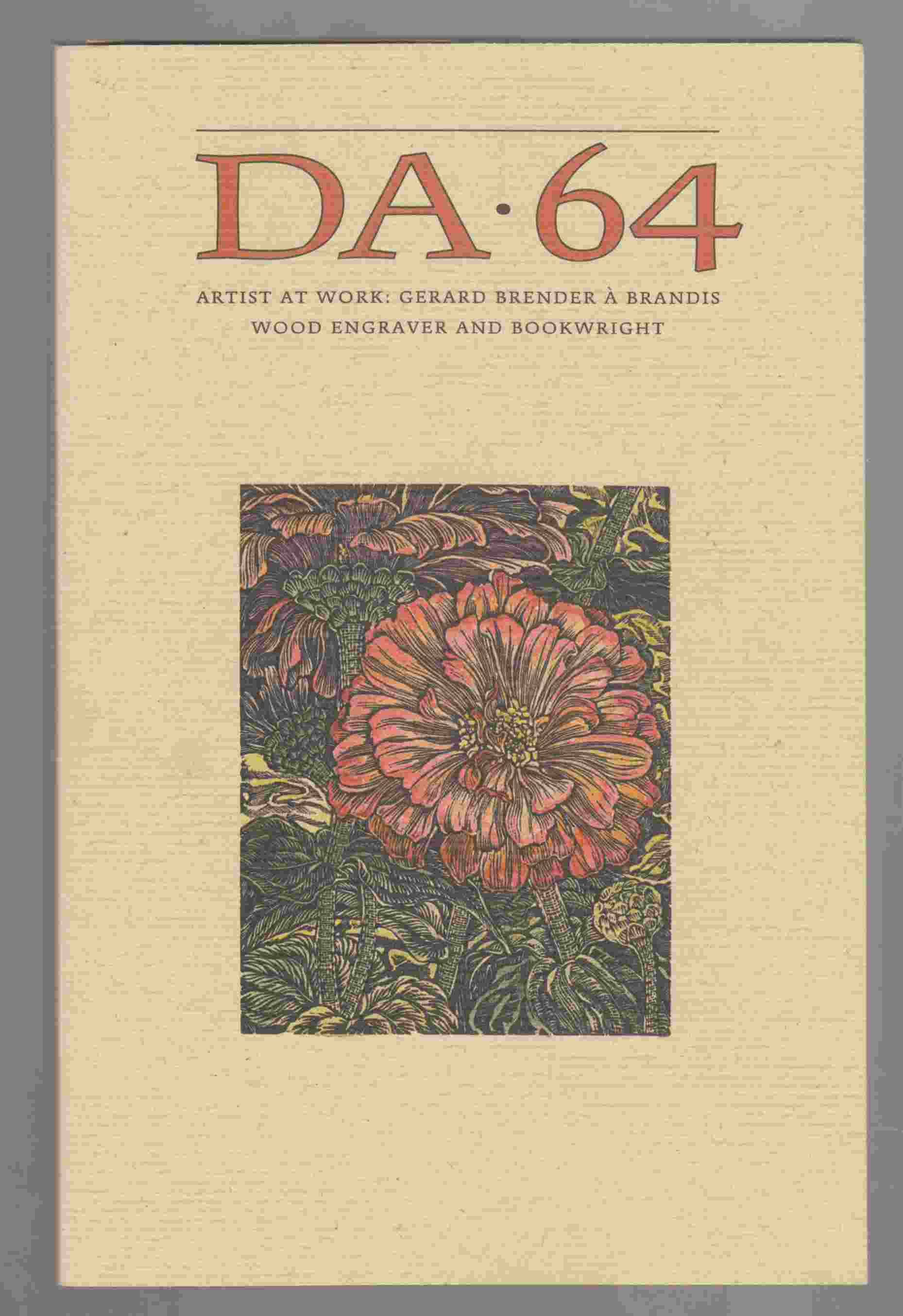 Image for DA, A Journal of the Printing Arts Number 64, Spring/Summer 2009