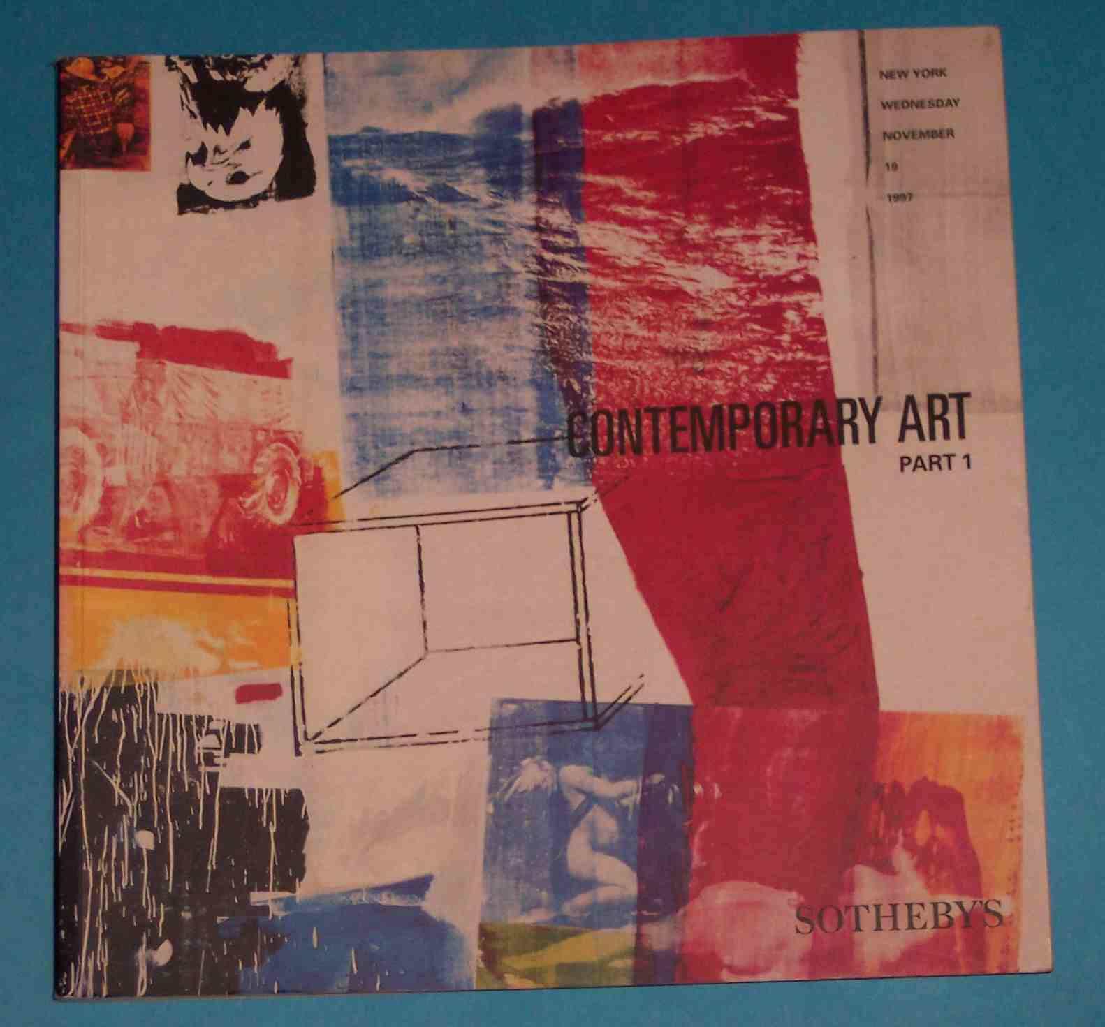 Image for Sotheby's Contemporary Art Part 1 New York November Wednesday 19 1997