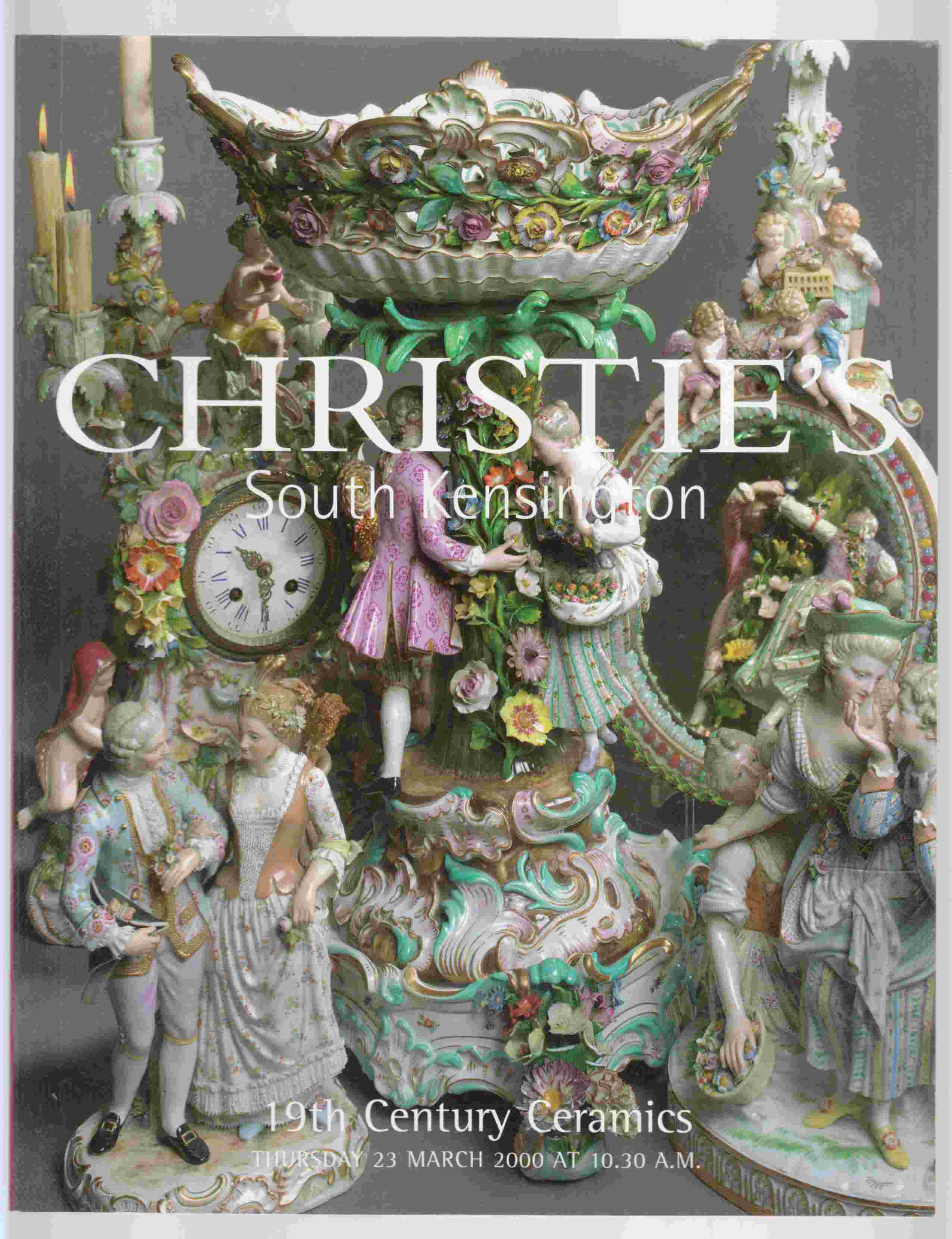 Image for Christie's South Kensington 19th Century Ceramics Thursday 23 March 2000