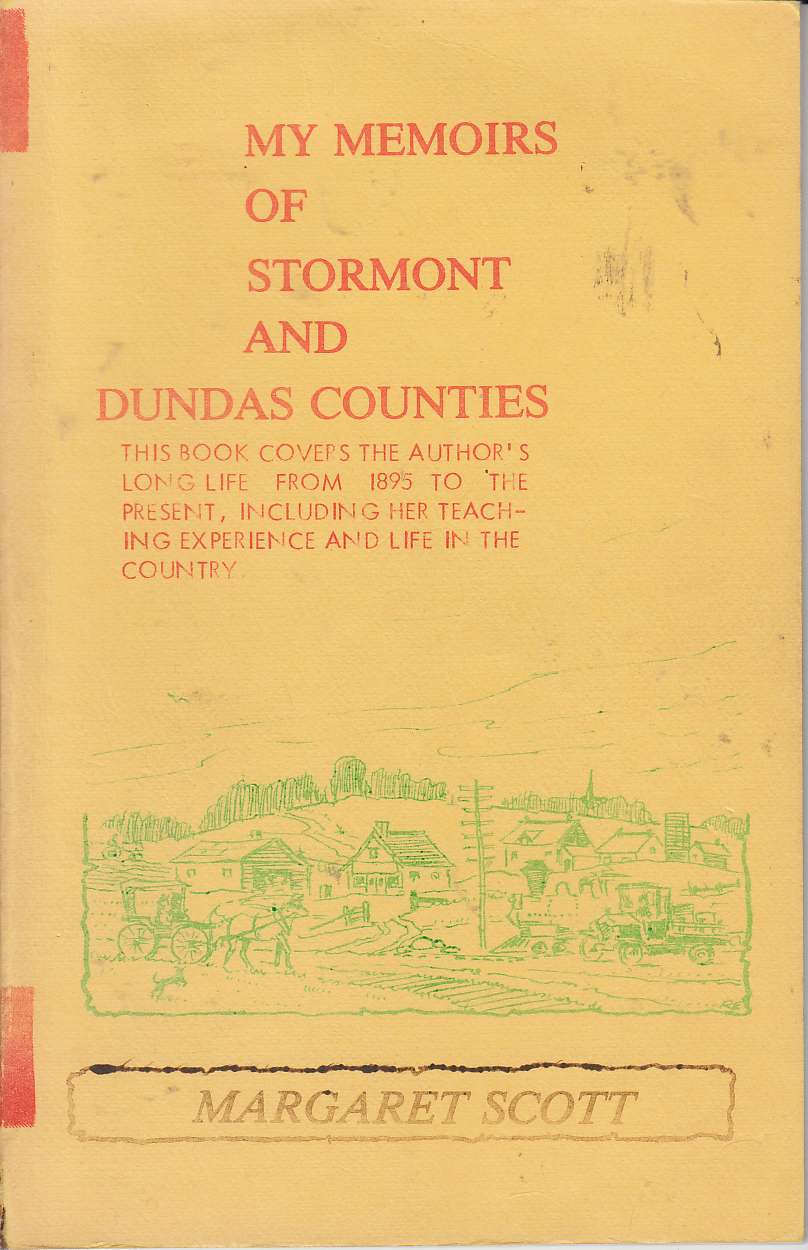 Image for My Memories of Stormont and Dundas Counties