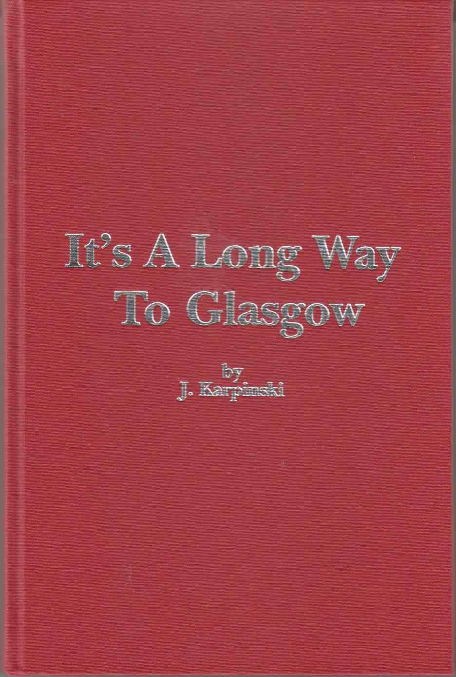 Image for It's a Long Way to Glasgow