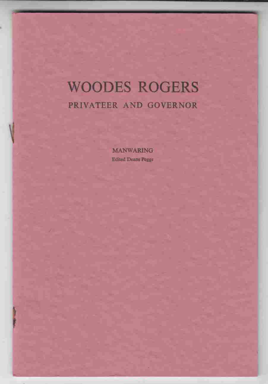 Image for Woodes Rogers Privateer and Governor
