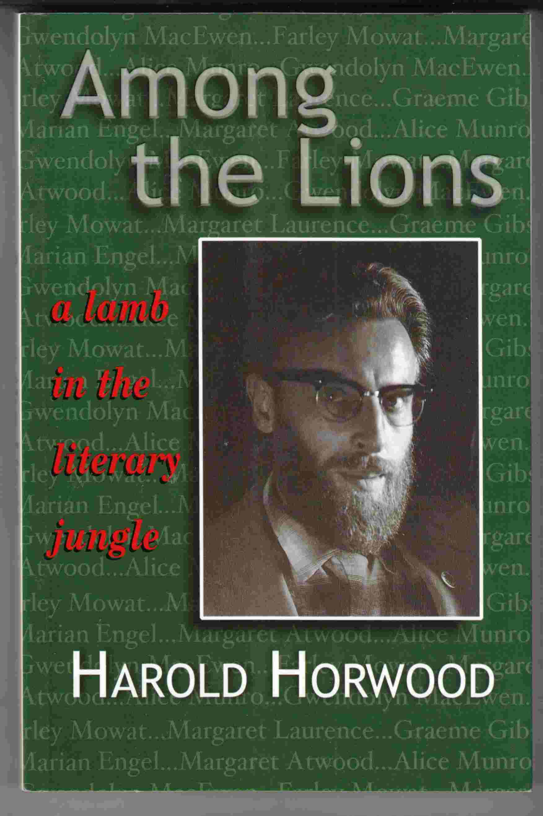 Image for Among the Lions A Lamb in the Literary Jungle