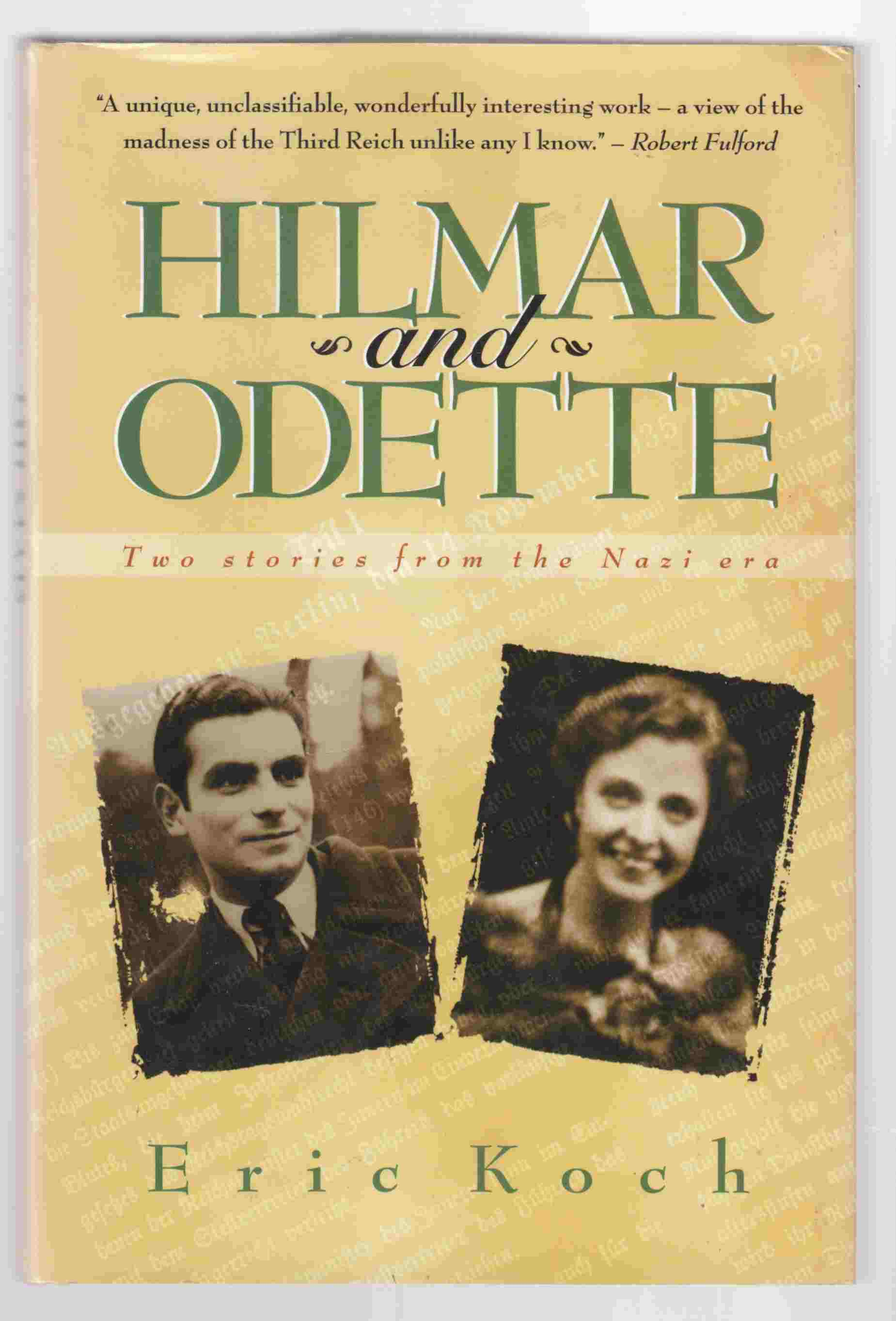 Image for Hilmar and Odette Two Stories from the Nazi Era