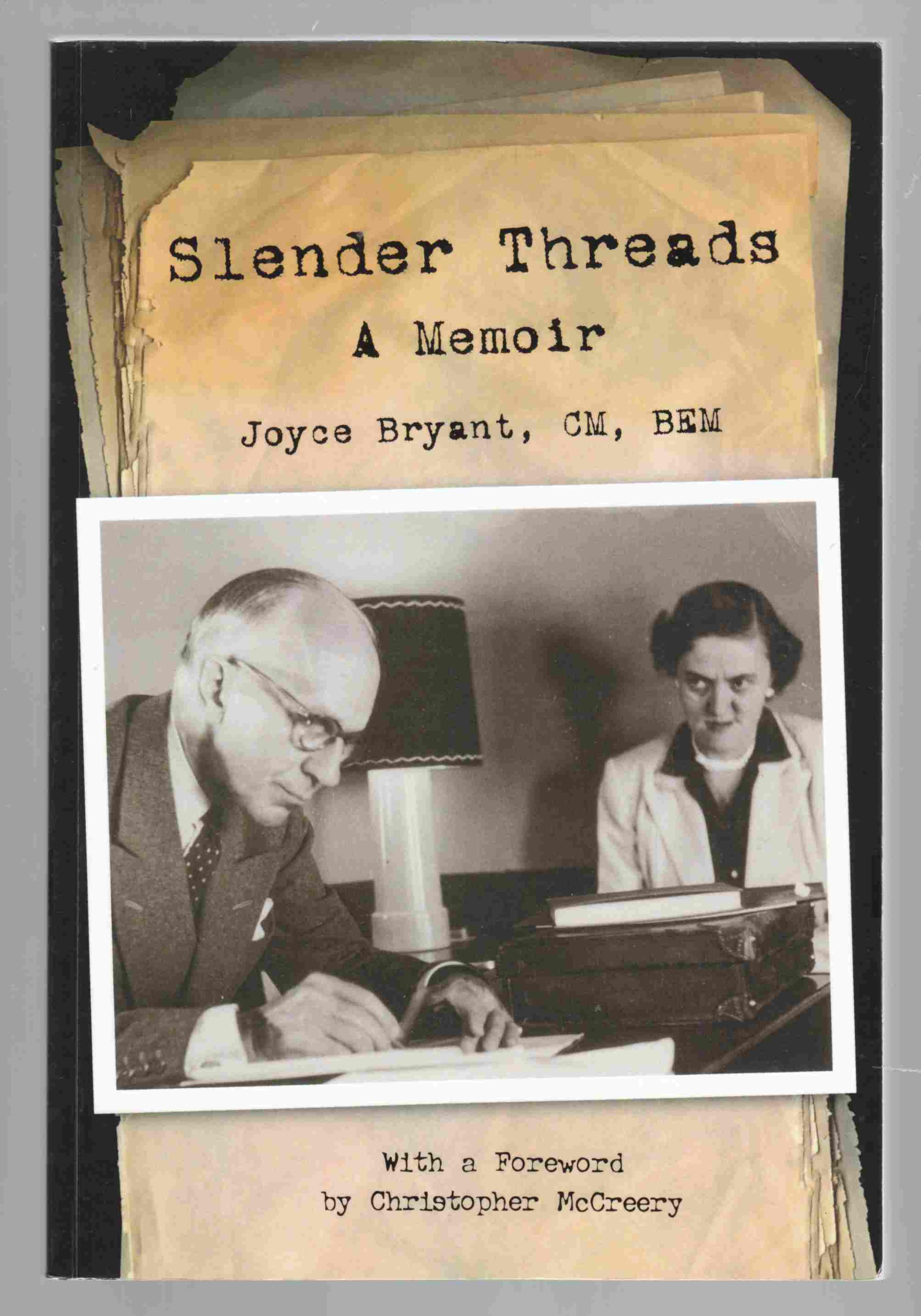 Image for Slender Threads A Memoir