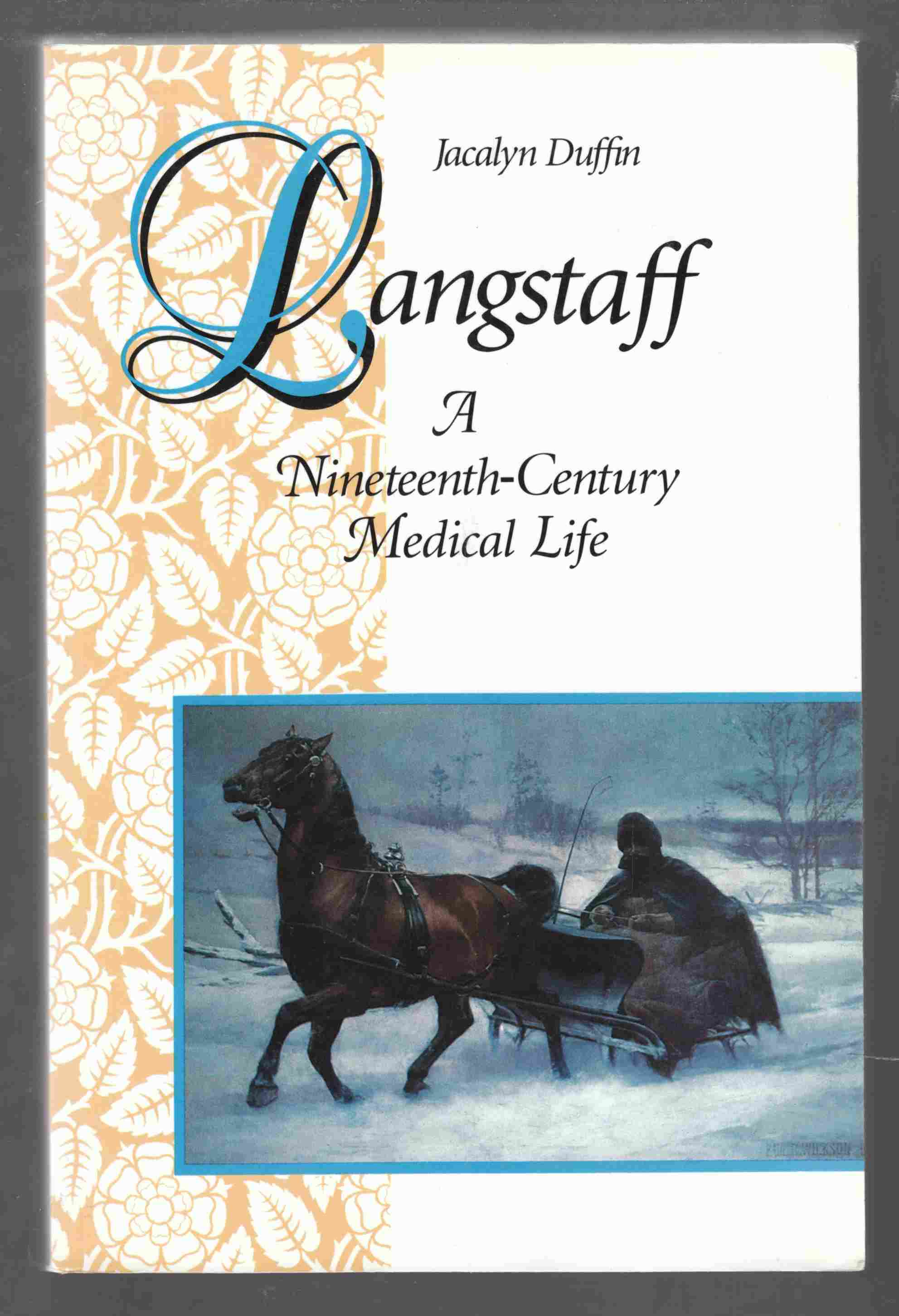 Image for Langstaff A Nineteenth-Century Medical Life