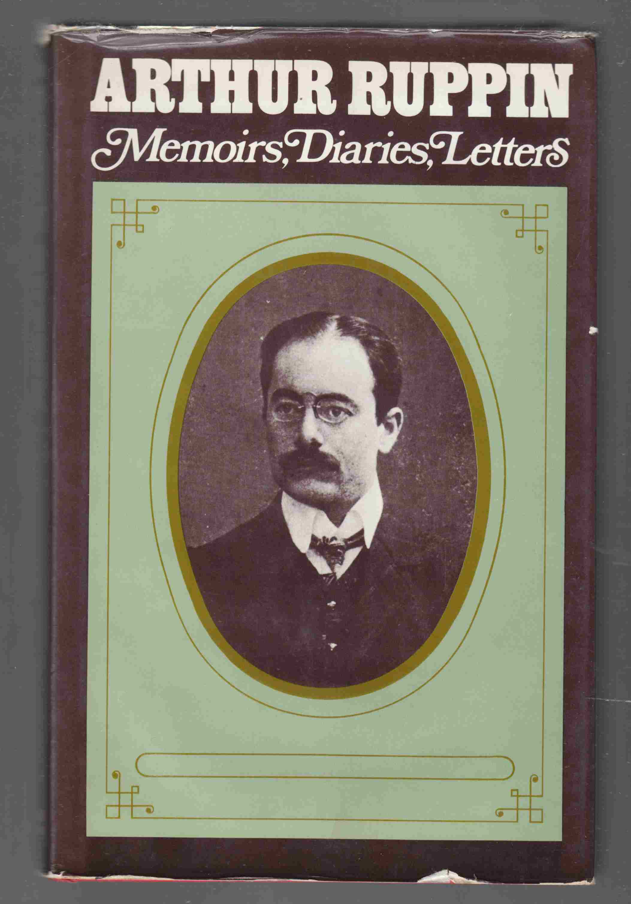 Image for Arthur Ruppin: Memoirs, Diaries, Letters