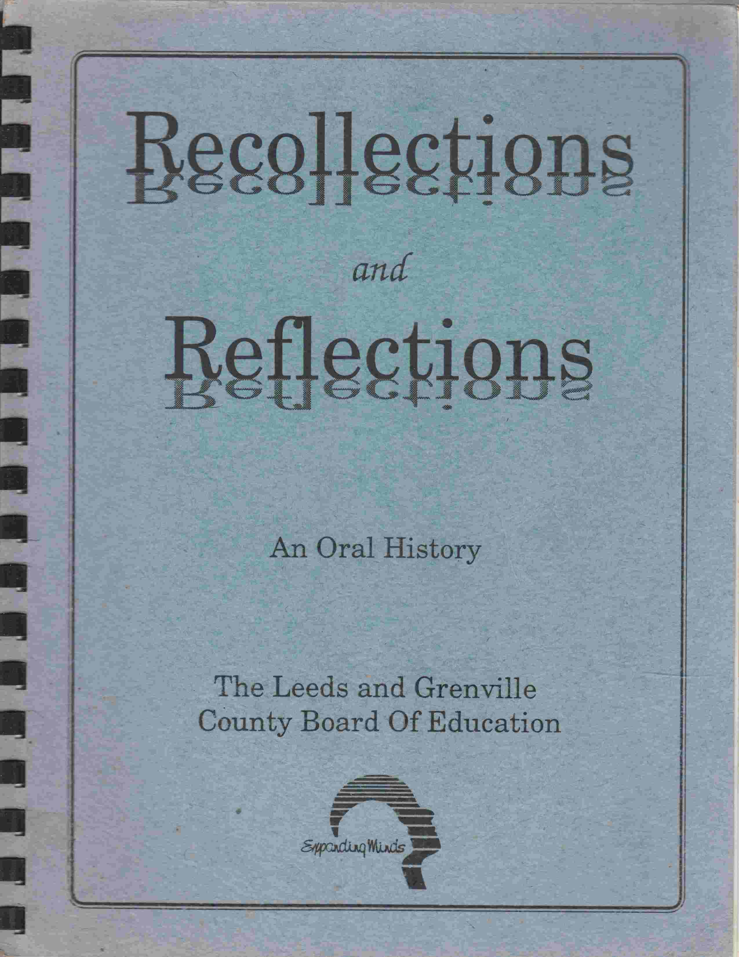 Image for Recollections and Reflections An Oral History